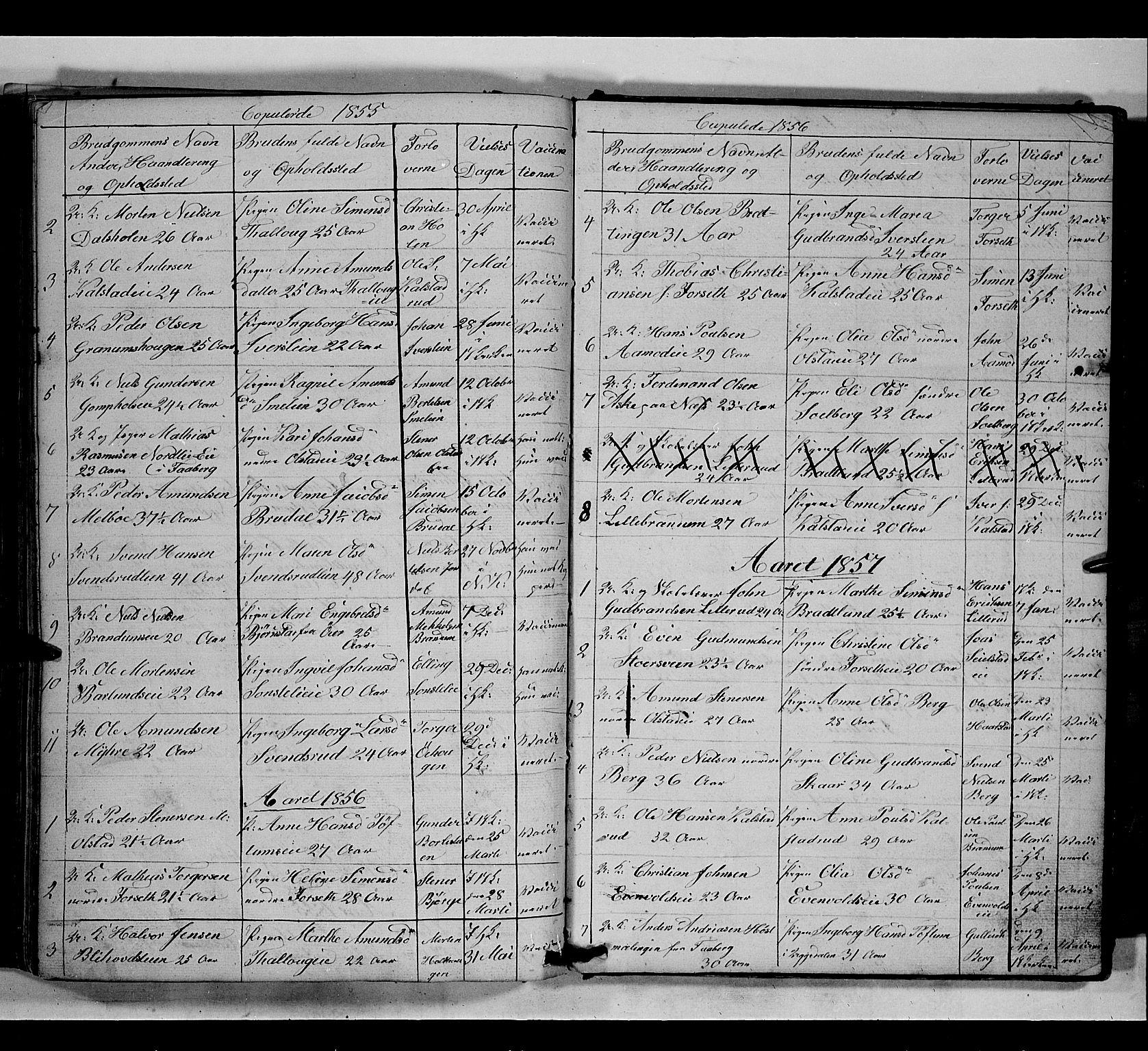 SAH, Gausdal prestekontor, Klokkerbok nr. 5, 1846-1867, s. 177