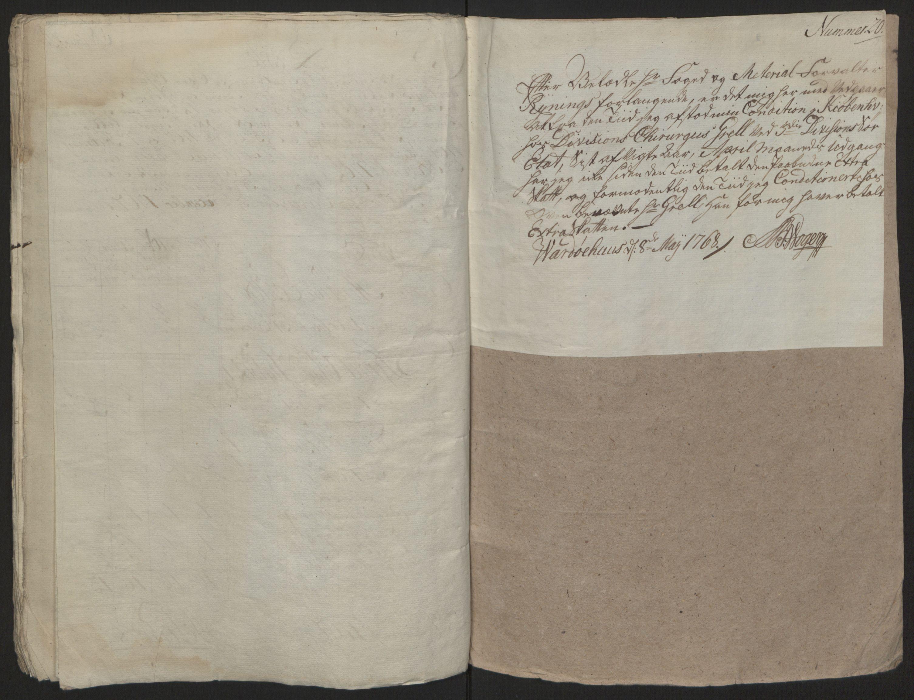 RA, Rentekammeret inntil 1814, Reviderte regnskaper, Fogderegnskap, R69/L4910: Ekstraskatten  Finnmark/Vardøhus, 1762-1772, s. 243