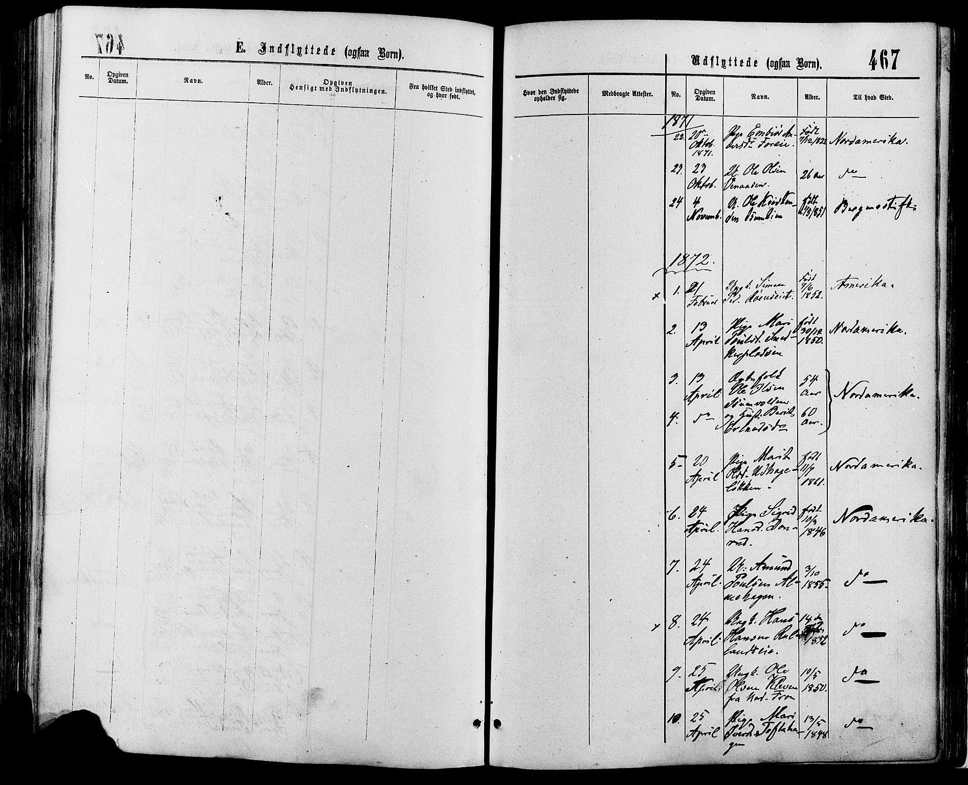 SAH, Sør-Fron prestekontor, H/Ha/Haa/L0002: Ministerialbok nr. 2, 1864-1880, s. 467