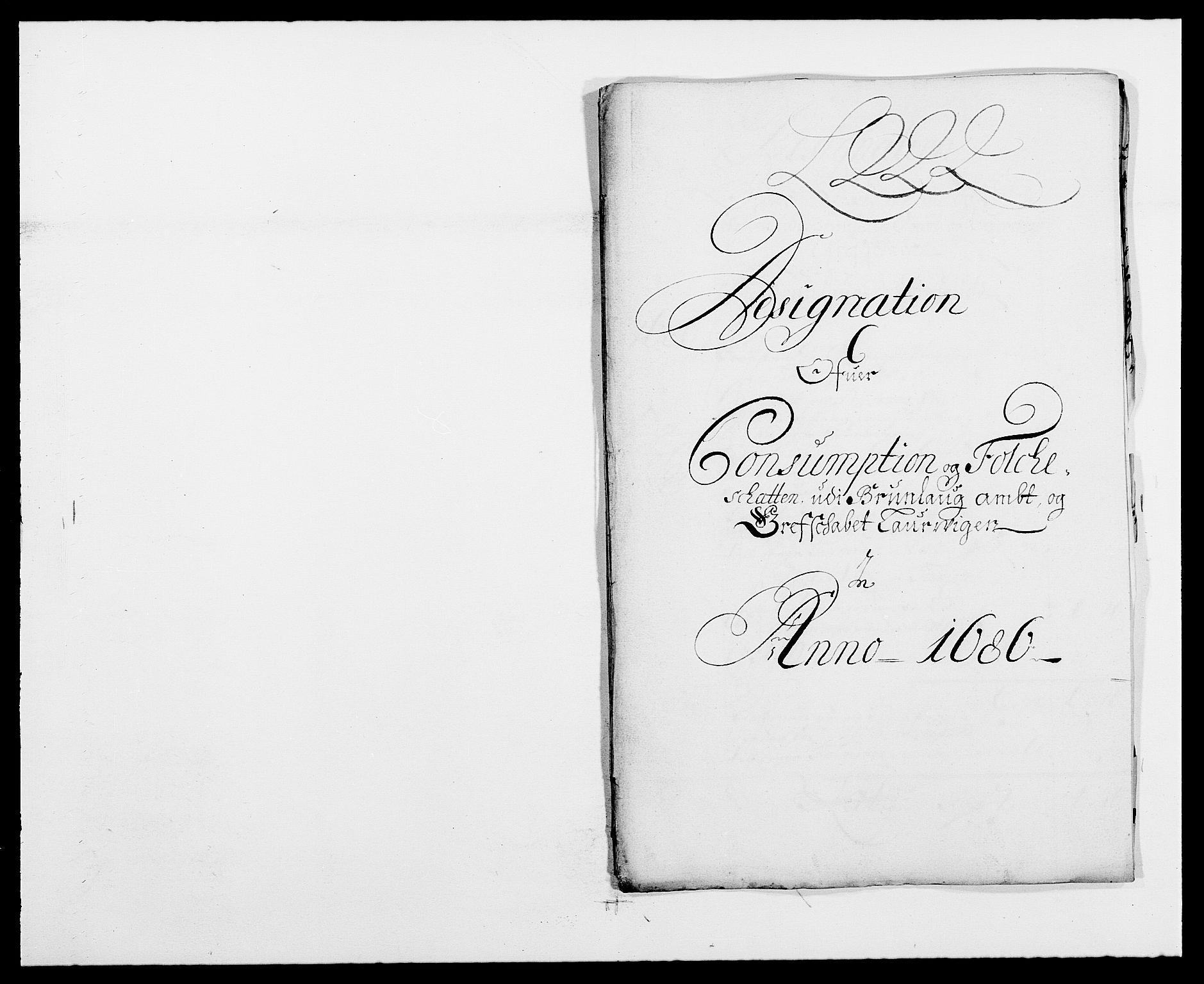 RA, Rentekammeret inntil 1814, Reviderte regnskaper, Fogderegnskap, R33/L1970: Fogderegnskap Larvik grevskap, 1675-1687, s. 233