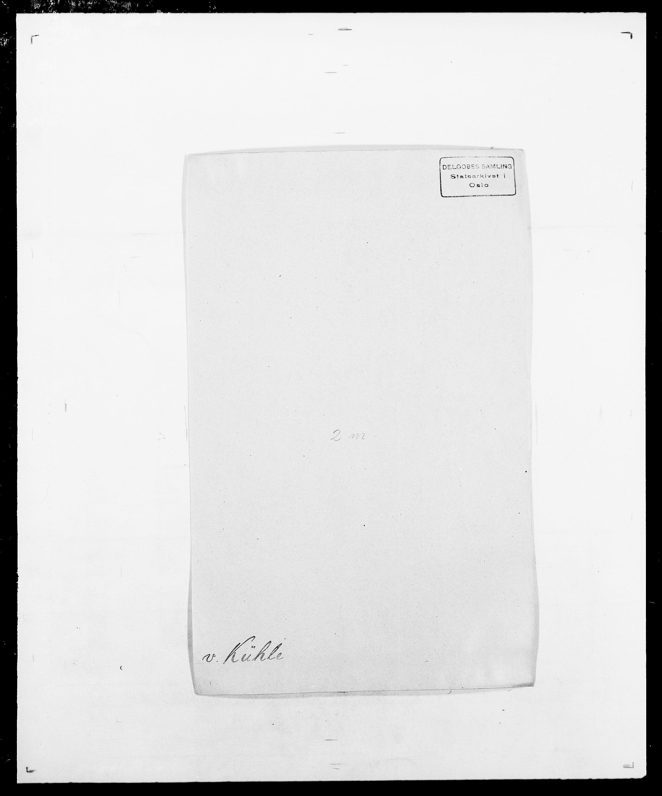 SAO, Delgobe, Charles Antoine - samling, D/Da/L0022: Krog - Lasteen, s. 257