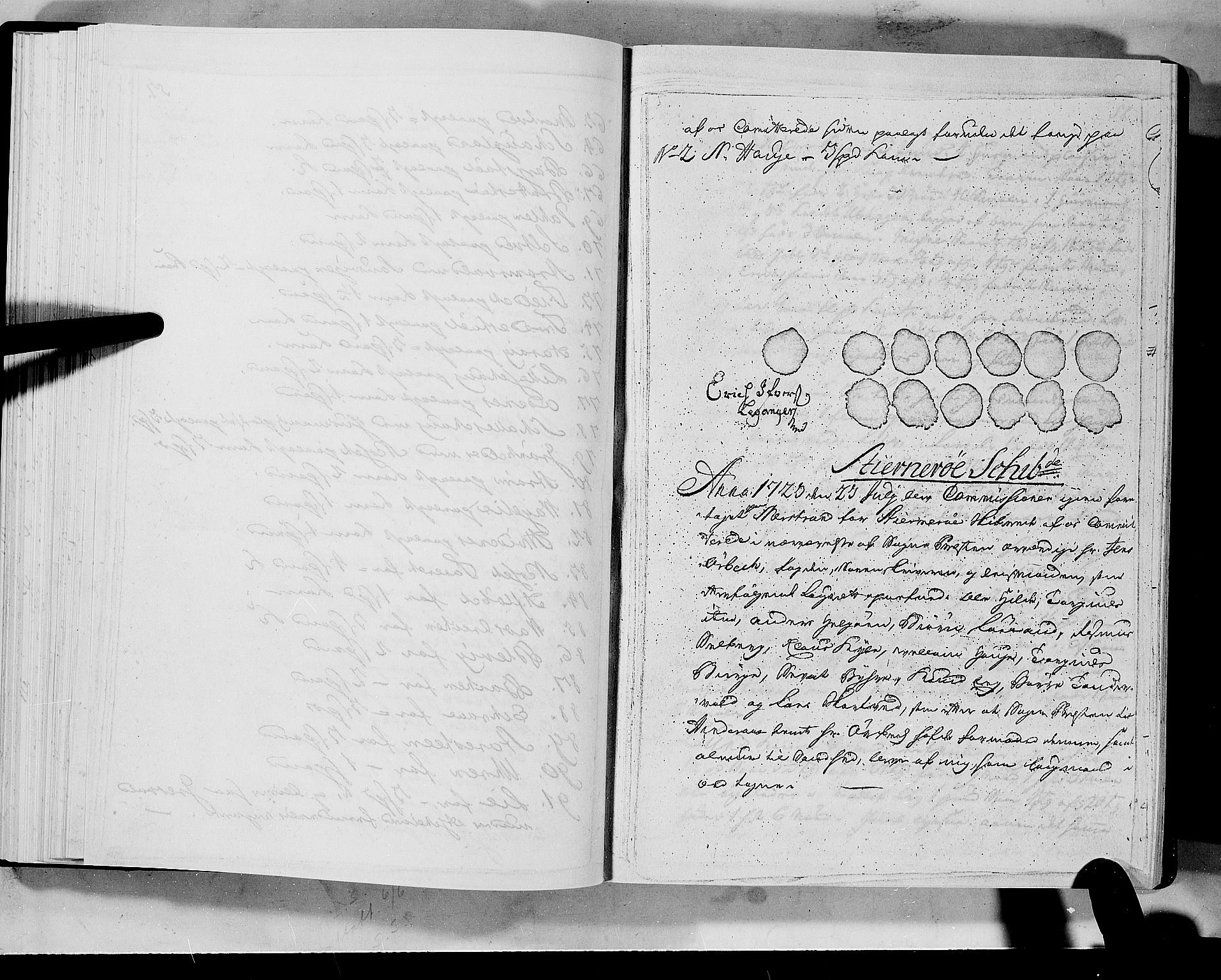 RA, Rentekammeret inntil 1814, Realistisk ordnet avdeling, N/Nb/Nbf/L0133a: Ryfylke eksaminasjonsprotokoll, 1723, s. 57b