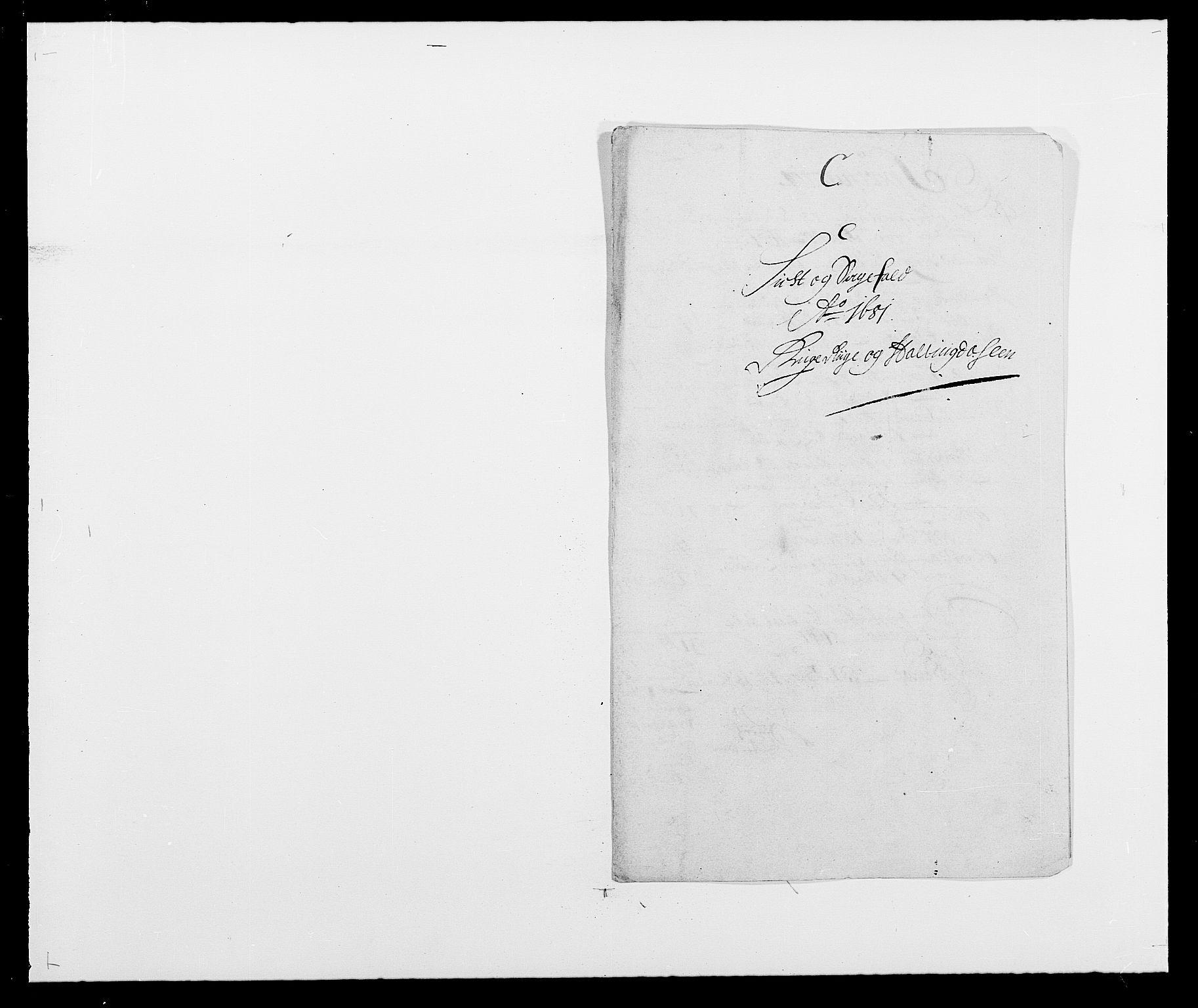 RA, Rentekammeret inntil 1814, Reviderte regnskaper, Fogderegnskap, R21/L1445: Fogderegnskap Ringerike og Hallingdal, 1681-1689, s. 82