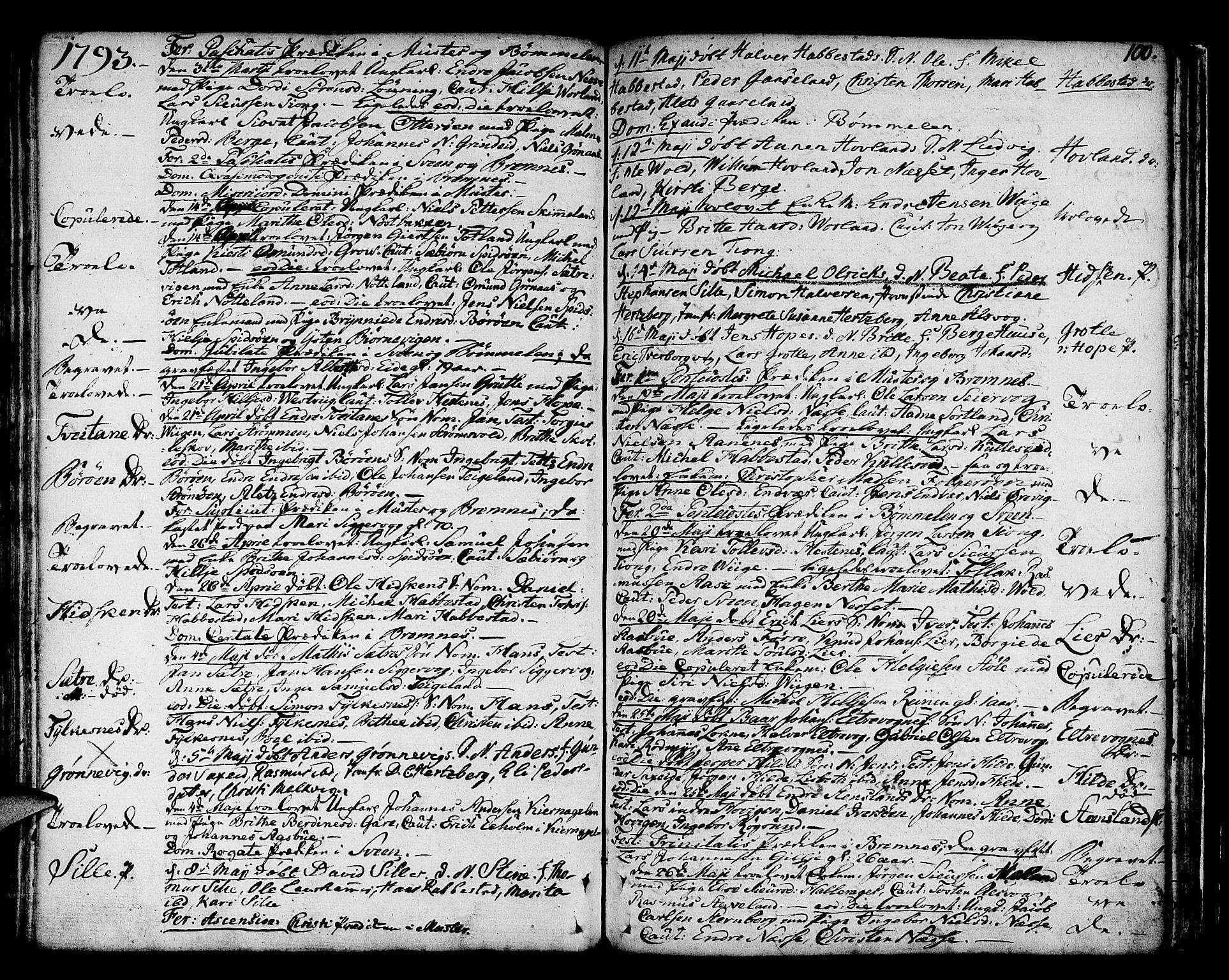 SAB, Finnås sokneprestembete, H/Ha/Haa/Haaa/L0003: Ministerialbok nr. A 3, 1765-1803, s. 100