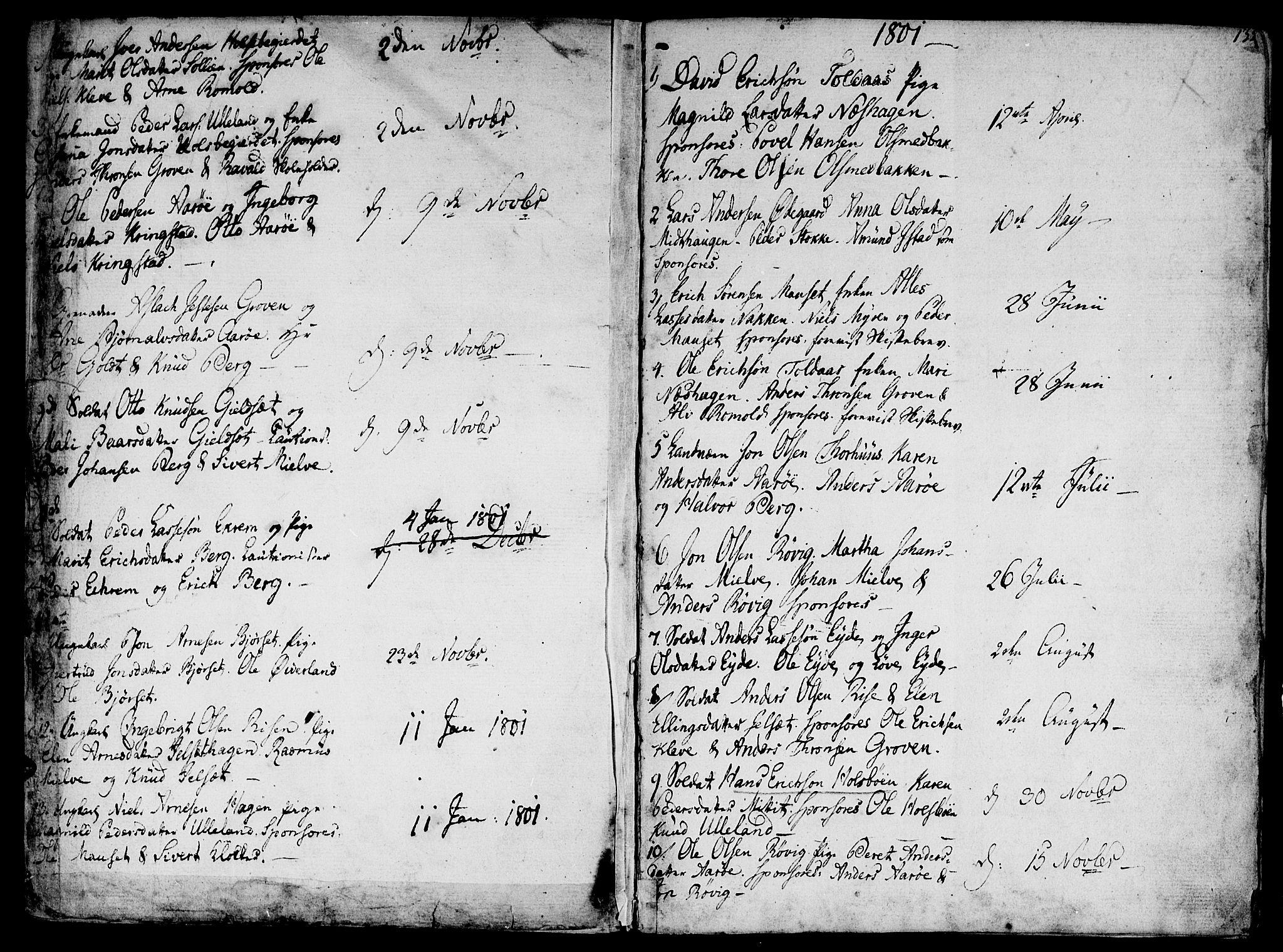 SAT, Ministerialprotokoller, klokkerbøker og fødselsregistre - Møre og Romsdal, 555/L0650: Ministerialbok nr. 555A02 /2, 1798-1821, s. 135