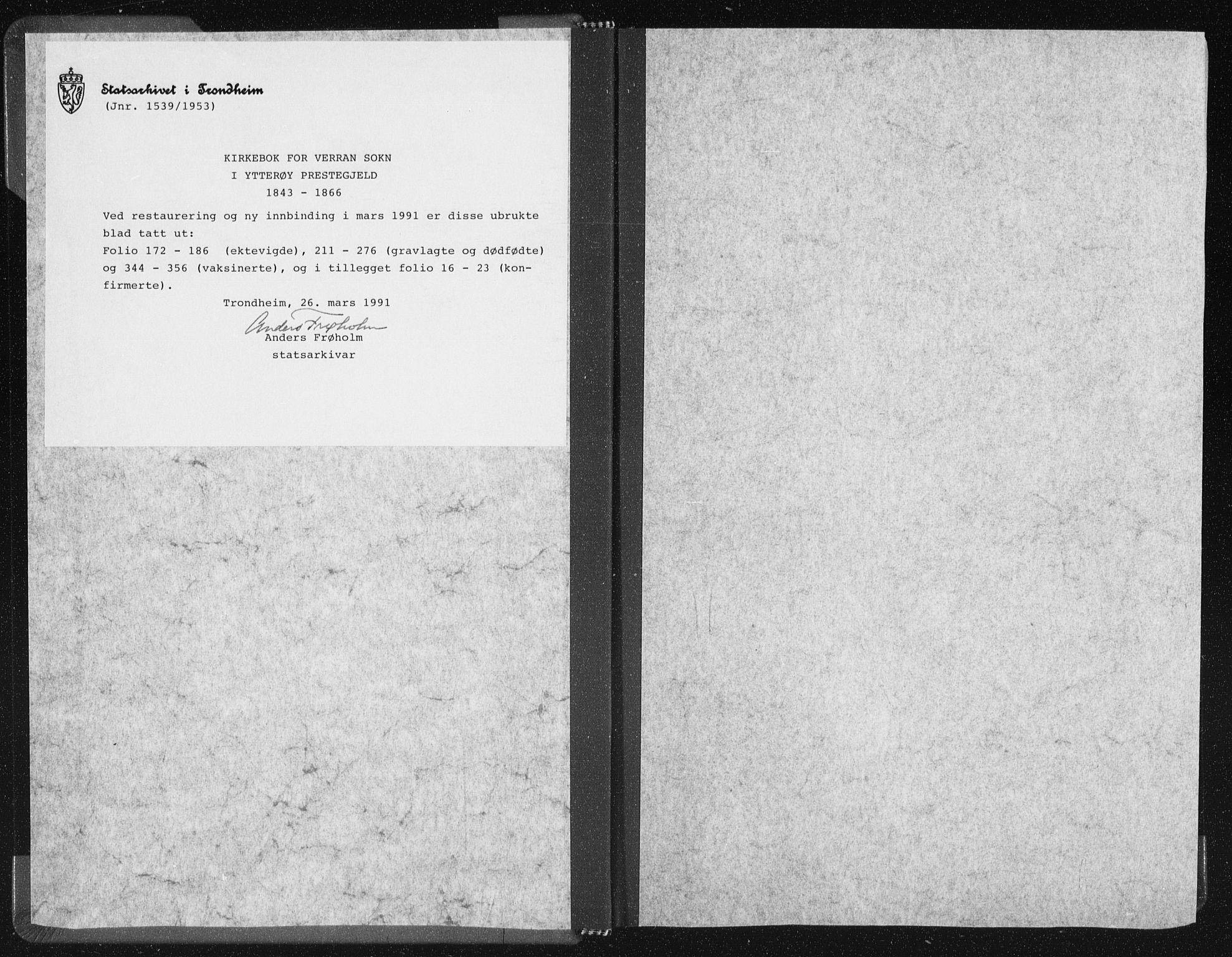 SAT, Ministerialprotokoller, klokkerbøker og fødselsregistre - Nord-Trøndelag, 744/L0418: Ministerialbok nr. 744A02, 1843-1866