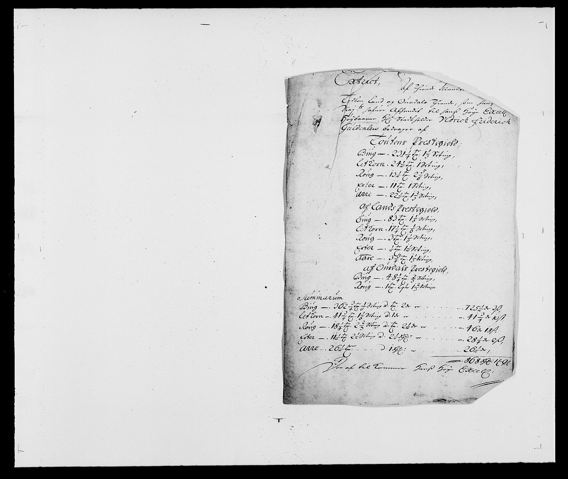 RA, Rentekammeret inntil 1814, Reviderte regnskaper, Fogderegnskap, R18/L1277: Fogderegnskap Hadeland, Toten og Valdres, 1680, s. 99