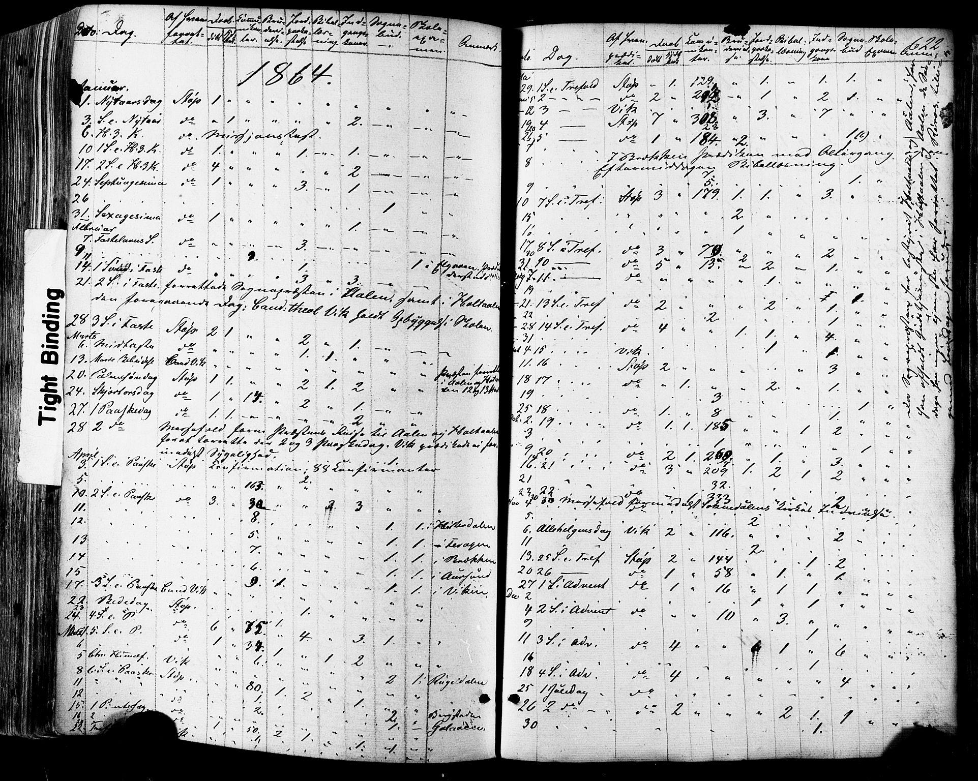 SAT, Ministerialprotokoller, klokkerbøker og fødselsregistre - Sør-Trøndelag, 681/L0932: Ministerialbok nr. 681A10, 1860-1878, s. 622