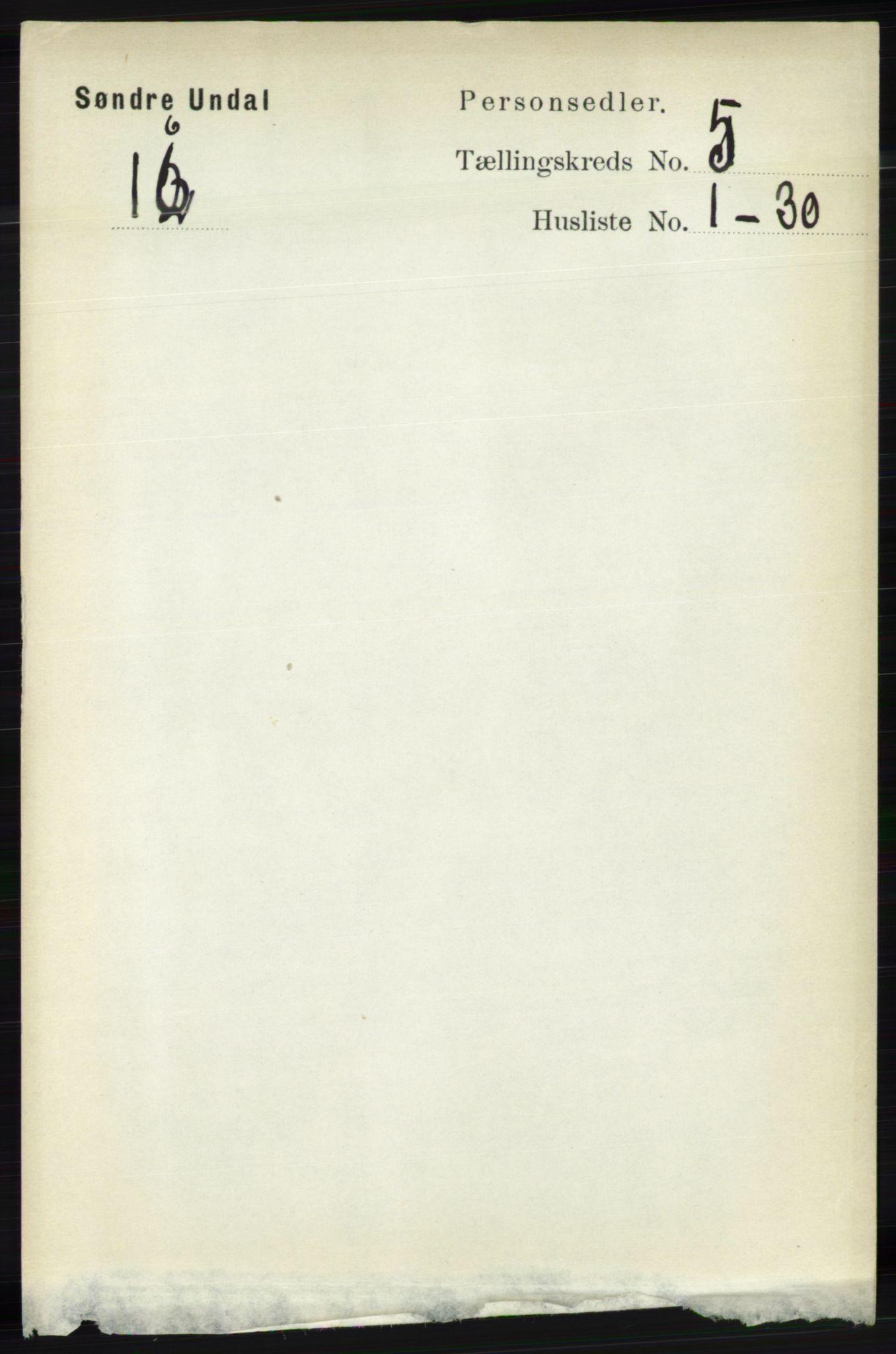 RA, Folketelling 1891 for 1029 Sør-Audnedal herred, 1891, s. 1899