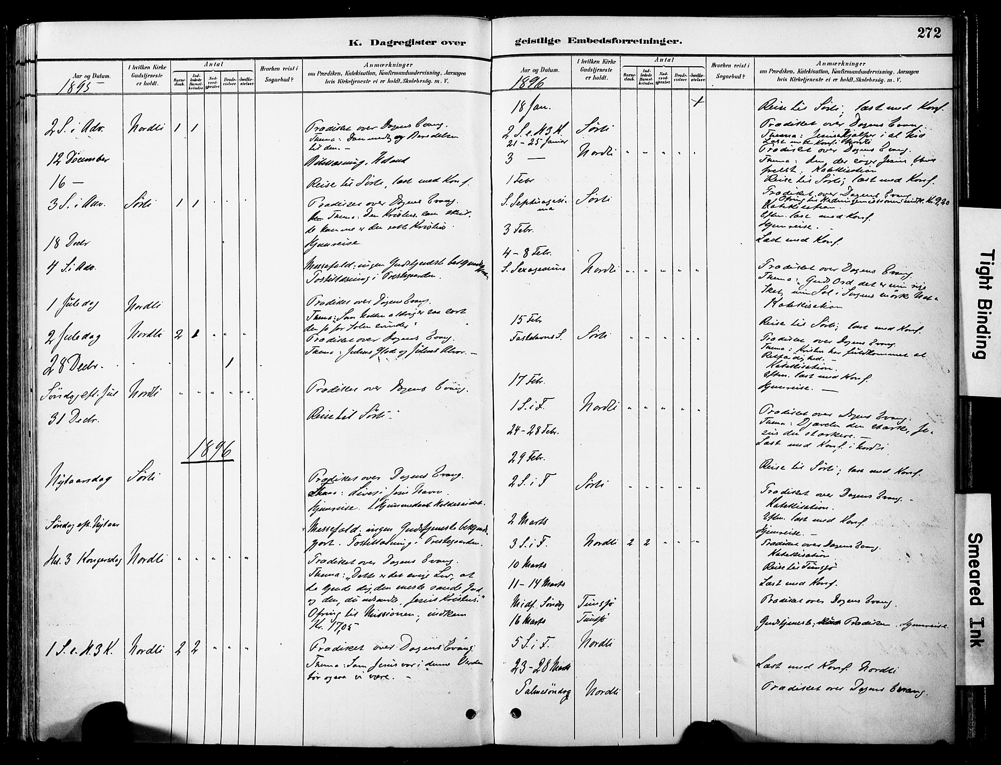 SAT, Ministerialprotokoller, klokkerbøker og fødselsregistre - Nord-Trøndelag, 755/L0494: Ministerialbok nr. 755A03, 1882-1902, s. 272