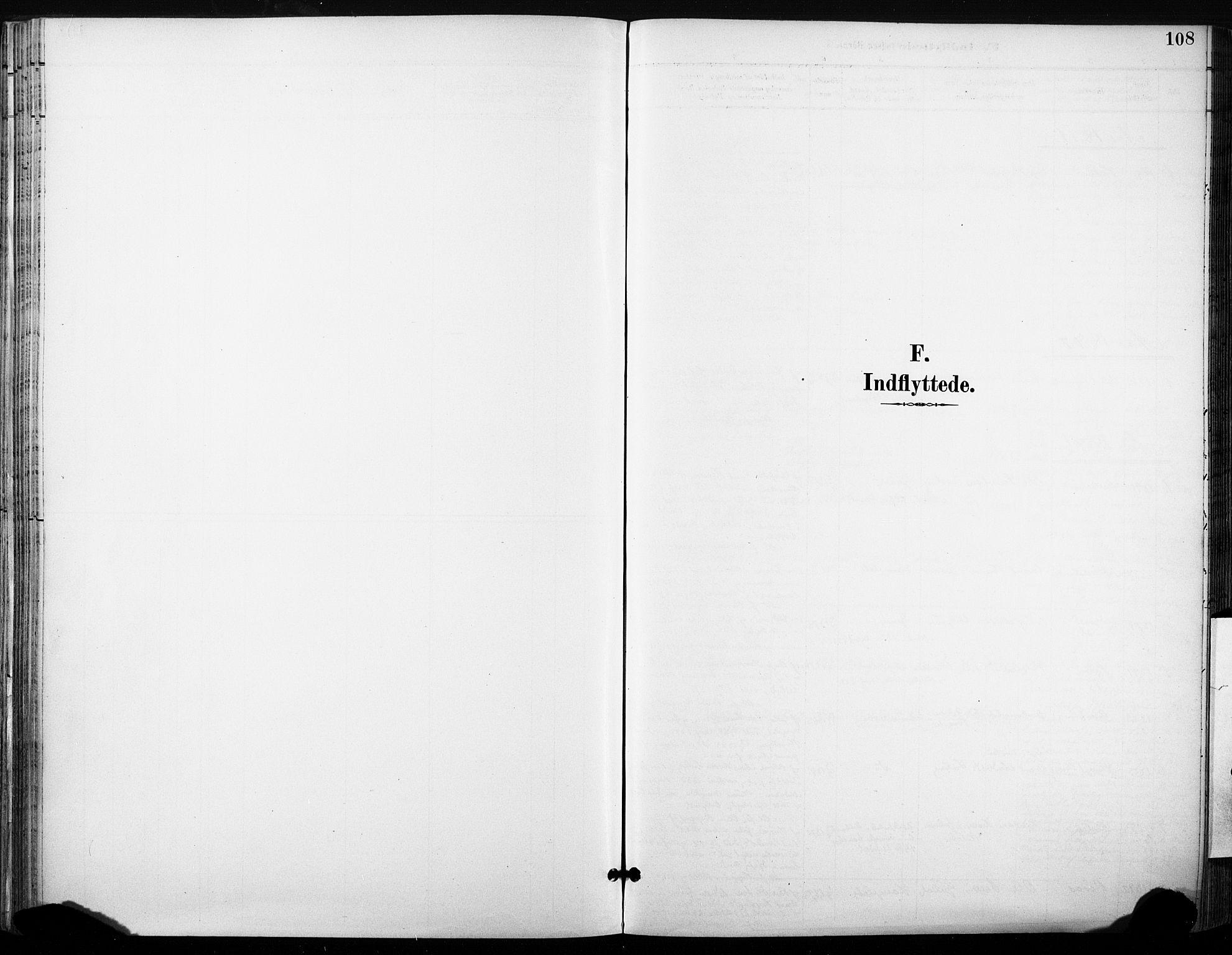 SAT, Ministerialprotokoller, klokkerbøker og fødselsregistre - Sør-Trøndelag, 685/L0973: Ministerialbok nr. 685A10, 1891-1907, s. 108