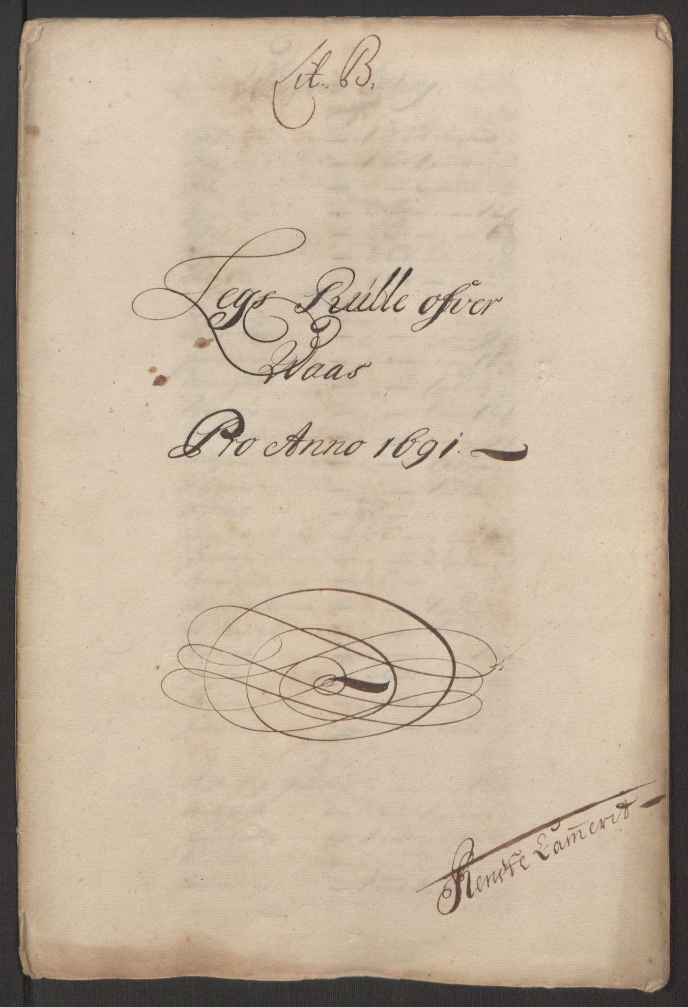 RA, Rentekammeret inntil 1814, Reviderte regnskaper, Fogderegnskap, R51/L3181: Fogderegnskap Nordhordland og Voss, 1691-1692, s. 41