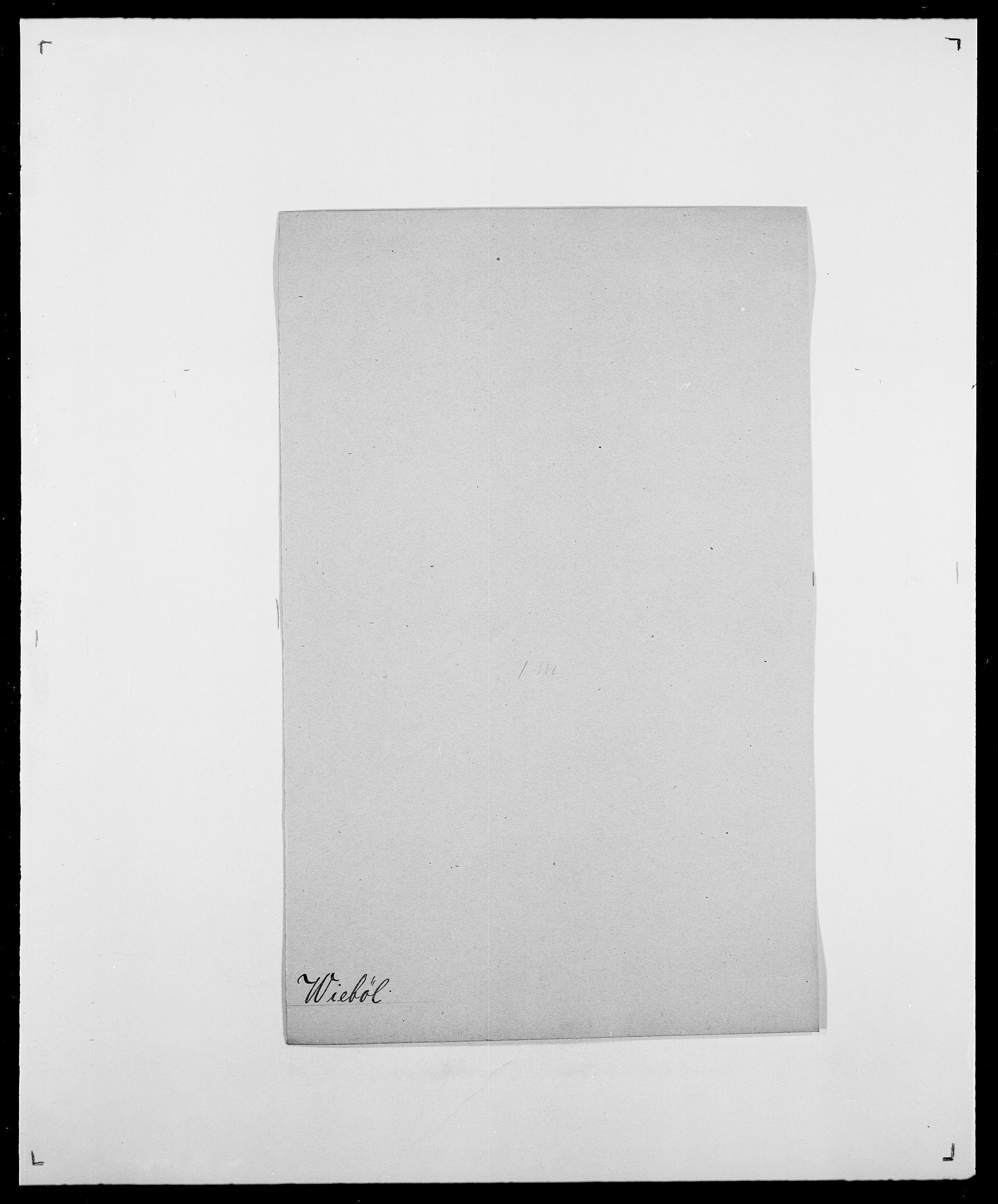 SAO, Delgobe, Charles Antoine - samling, D/Da/L0041: Vemmestad - Viker, s. 482