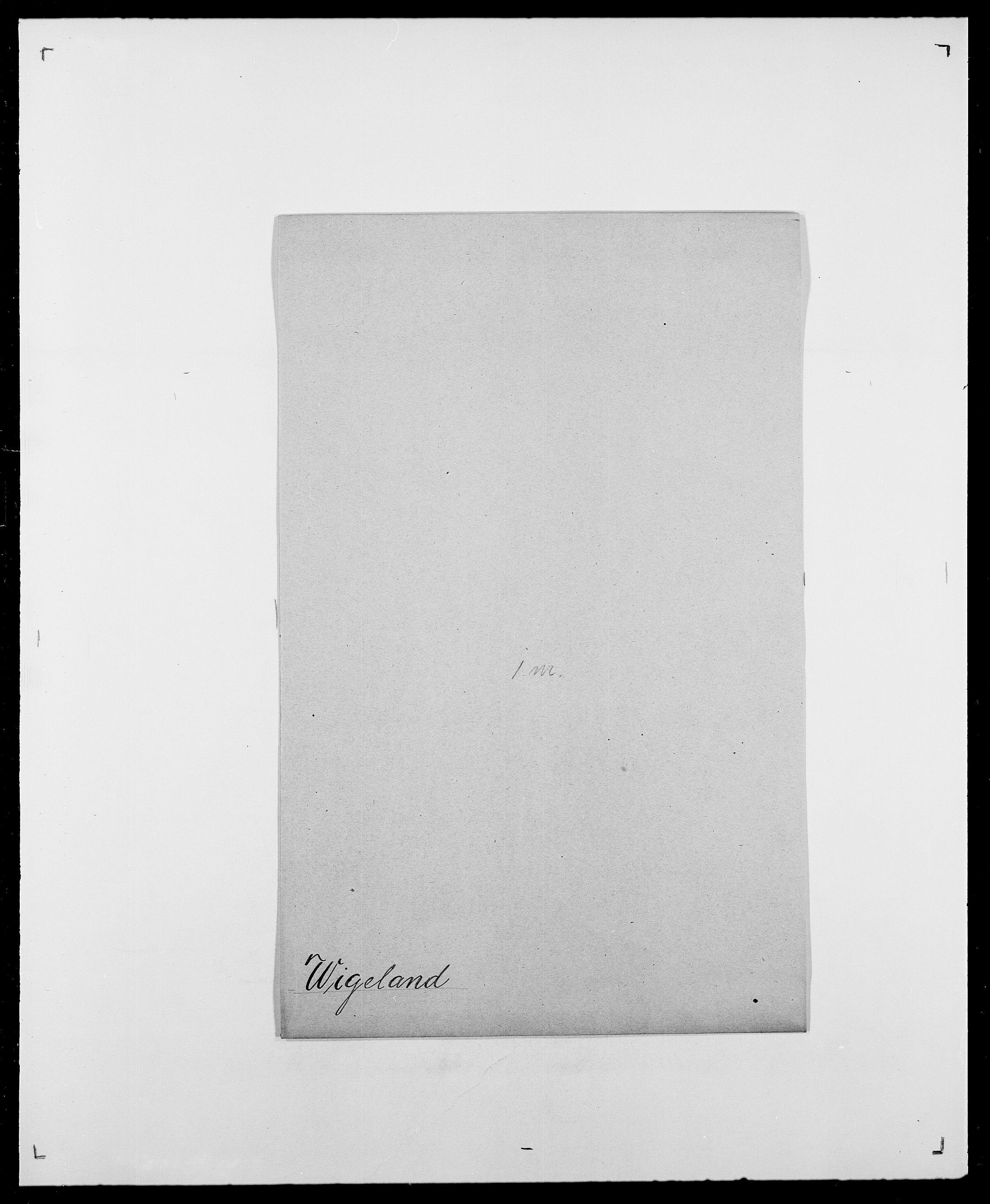 SAO, Delgobe, Charles Antoine - samling, D/Da/L0041: Vemmestad - Viker, s. 686