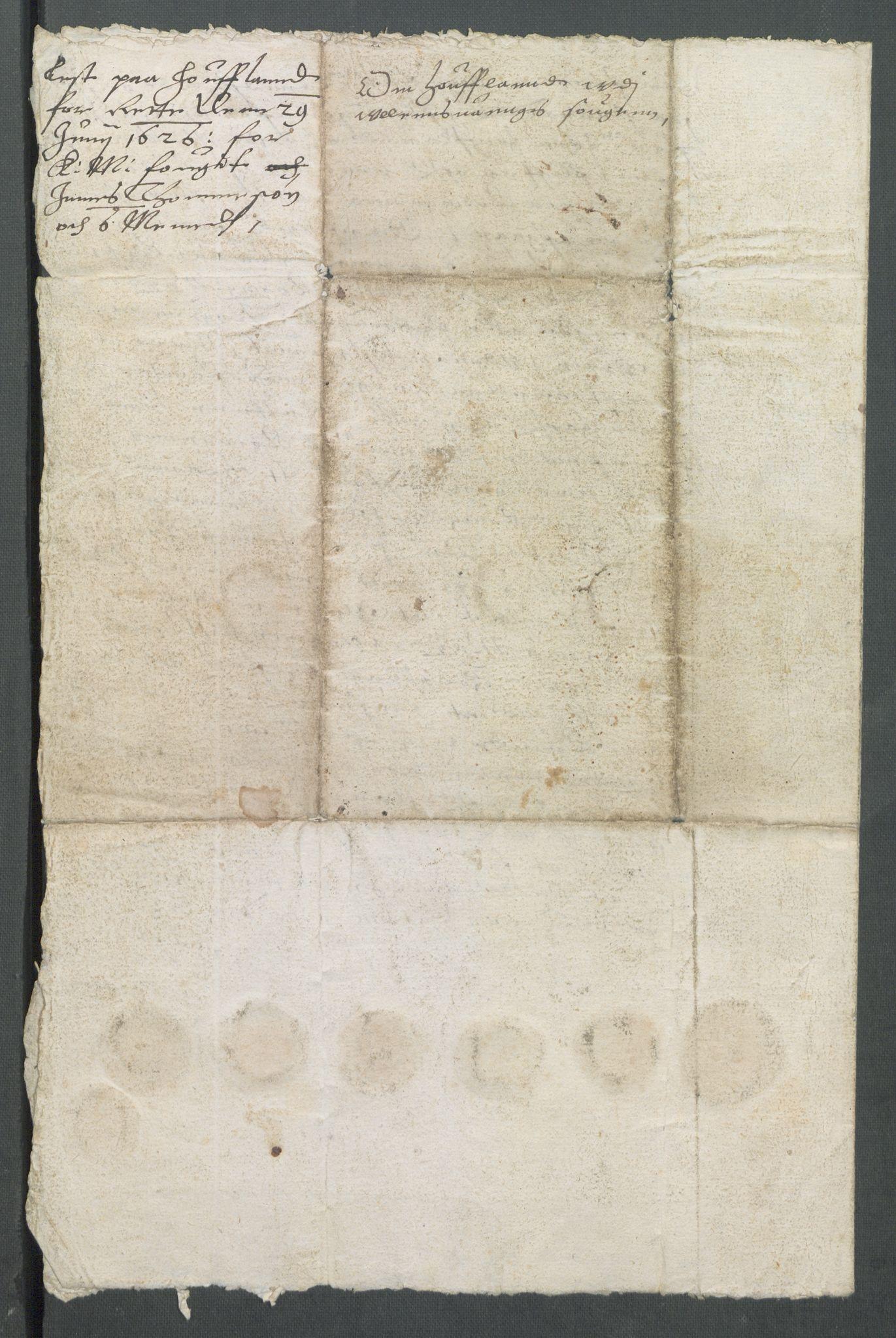 RA, Riksarkivets diplomsamling, F02/L0133: Dokumenter, 1624, s. 83