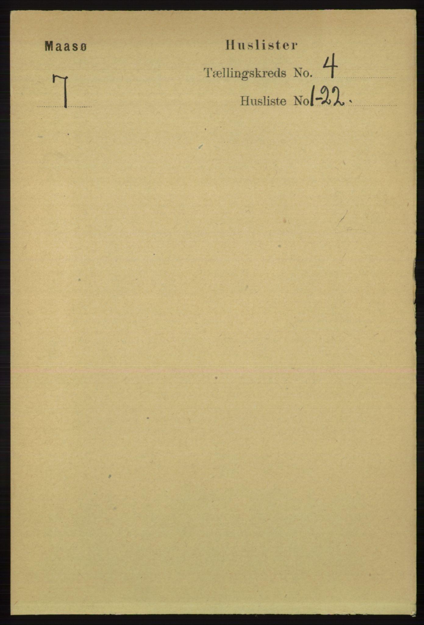 RA, Folketelling 1891 for 2018 Måsøy herred, 1891, s. 506