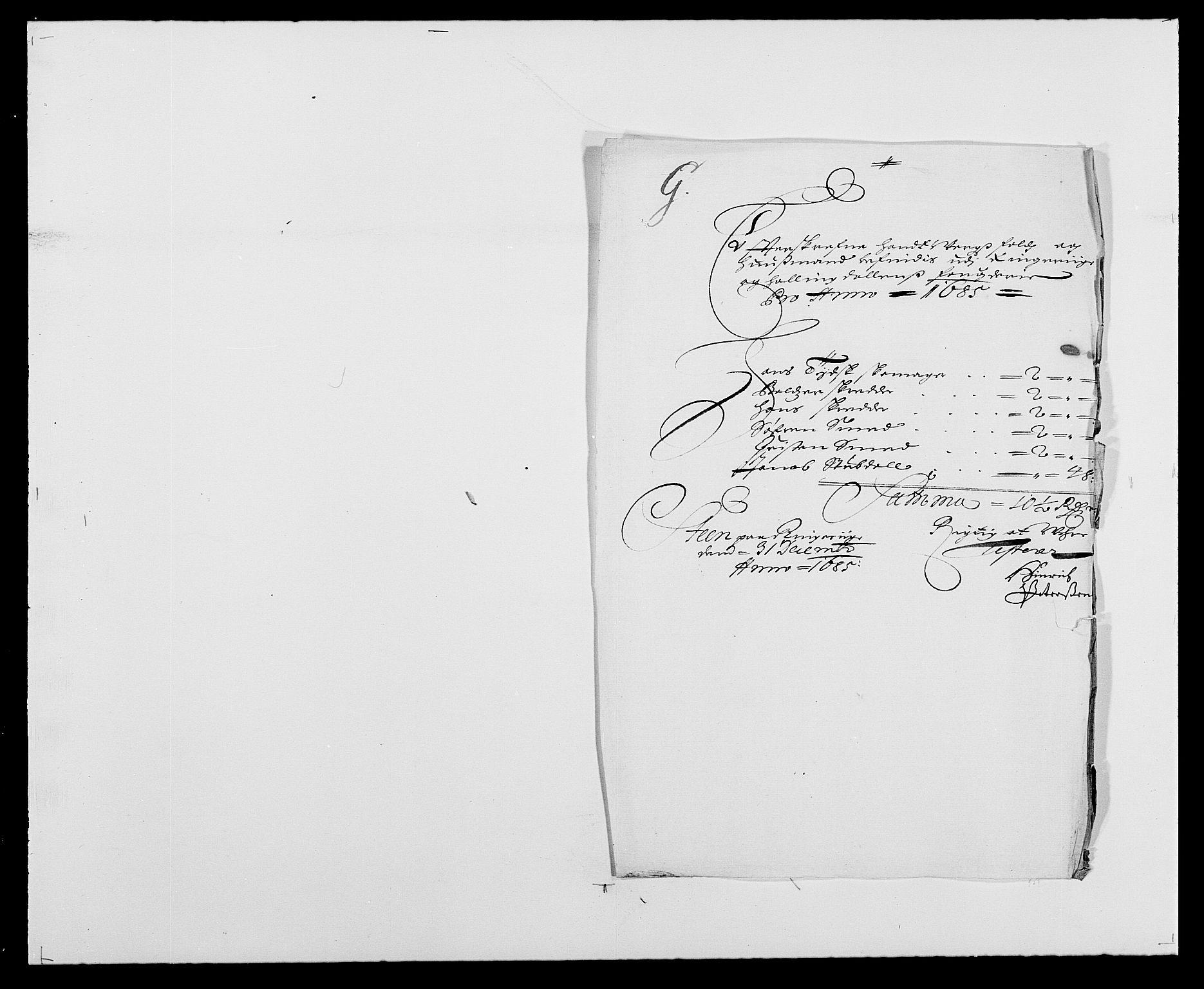 RA, Rentekammeret inntil 1814, Reviderte regnskaper, Fogderegnskap, R21/L1446: Fogderegnskap Ringerike og Hallingdal, 1683-1686, s. 350