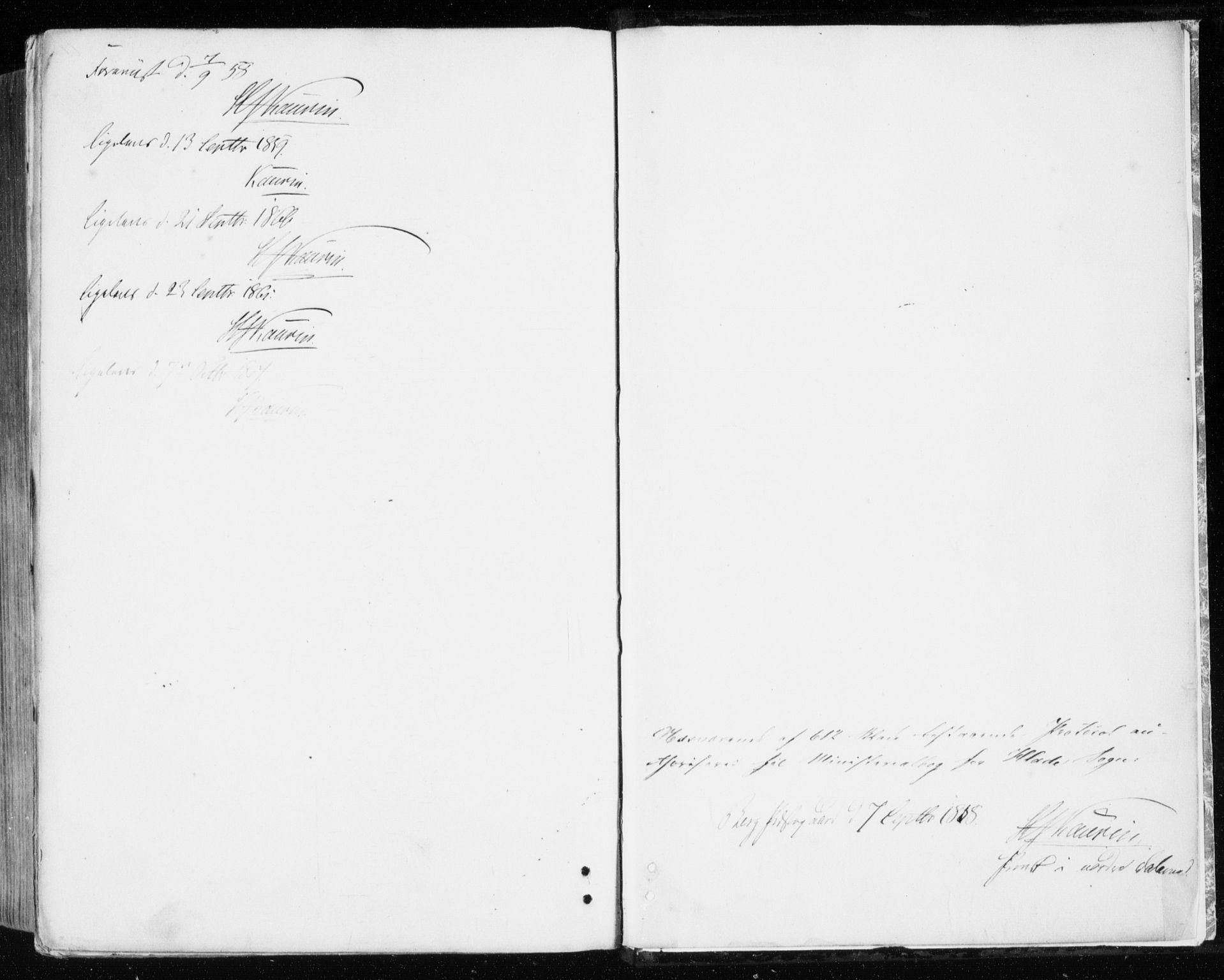 SAT, Ministerialprotokoller, klokkerbøker og fødselsregistre - Sør-Trøndelag, 606/L0292: Ministerialbok nr. 606A07, 1856-1865