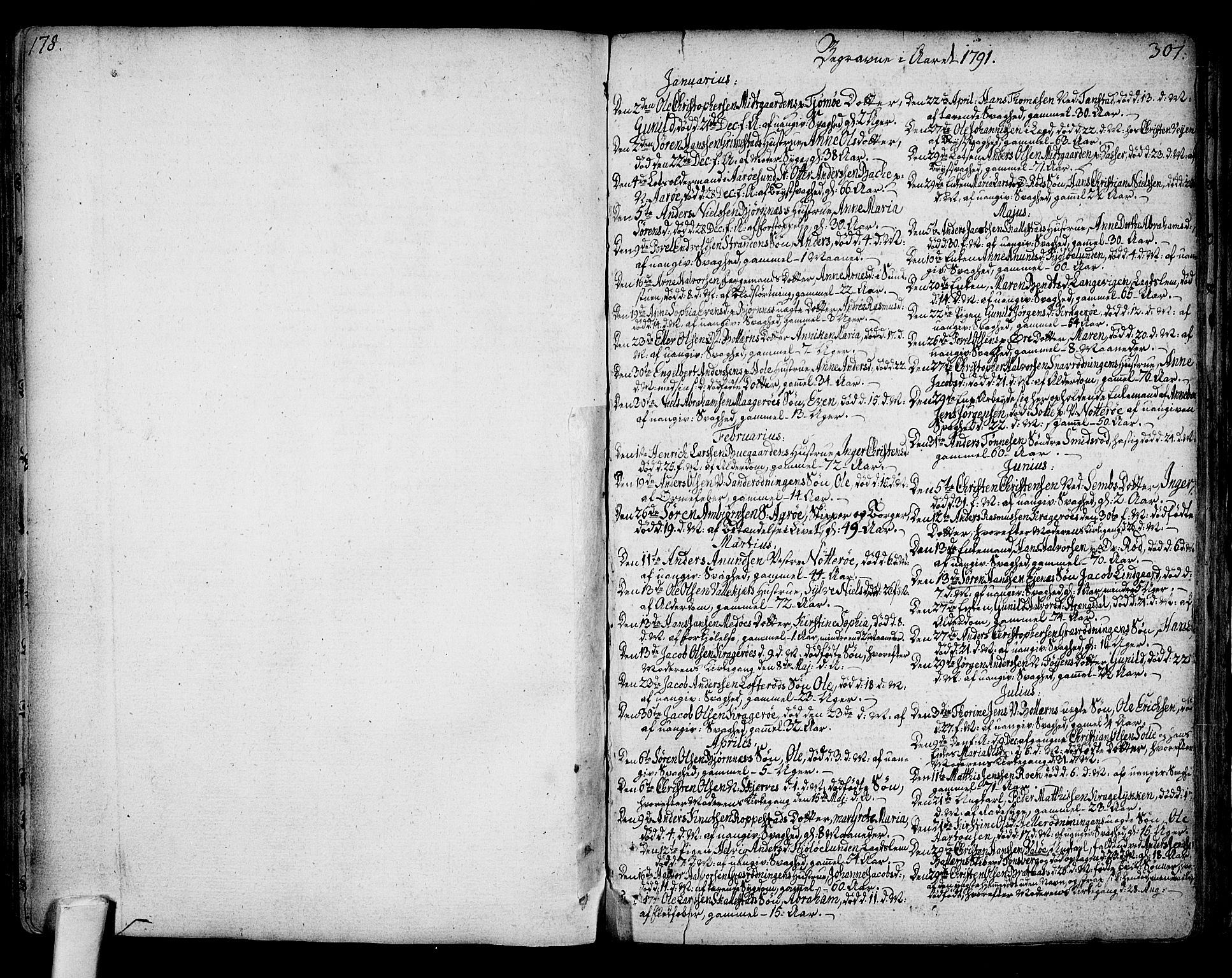 SAKO, Nøtterøy kirkebøker, F/Fa/L0003: Ministerialbok nr. I 3, 1791-1814, s. 300-301
