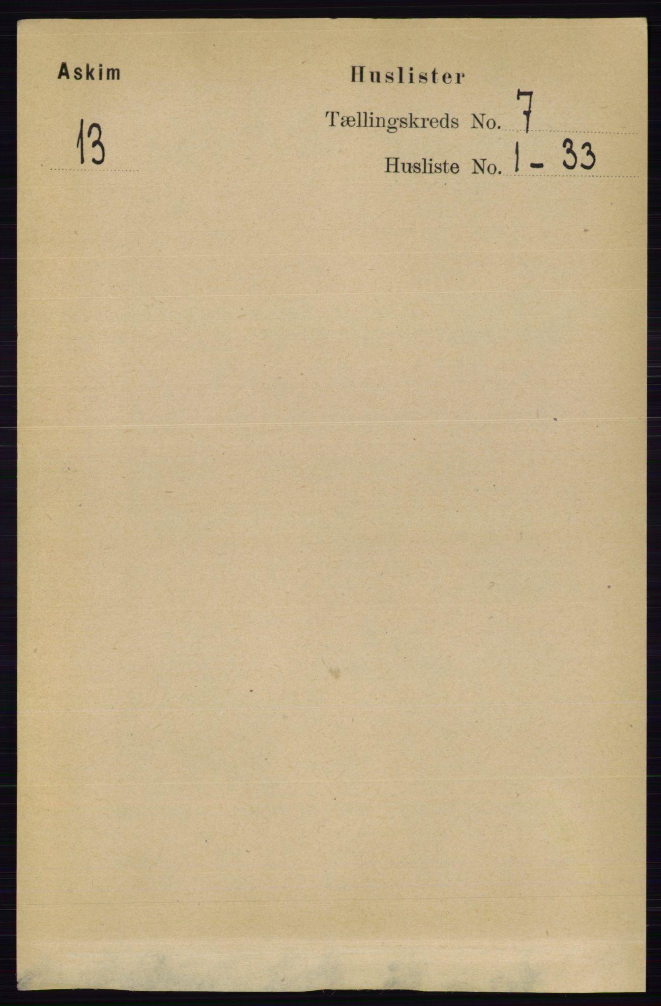 RA, Folketelling 1891 for 0124 Askim herred, 1891, s. 978