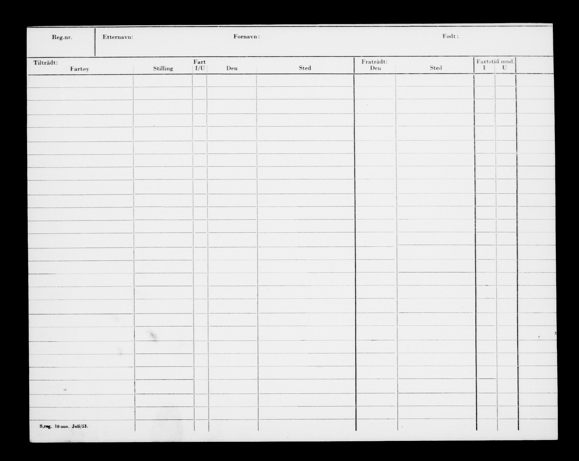 RA, Direktoratet for sjømenn, G/Gb/L0005: Hovedkort, 1888, s. 134