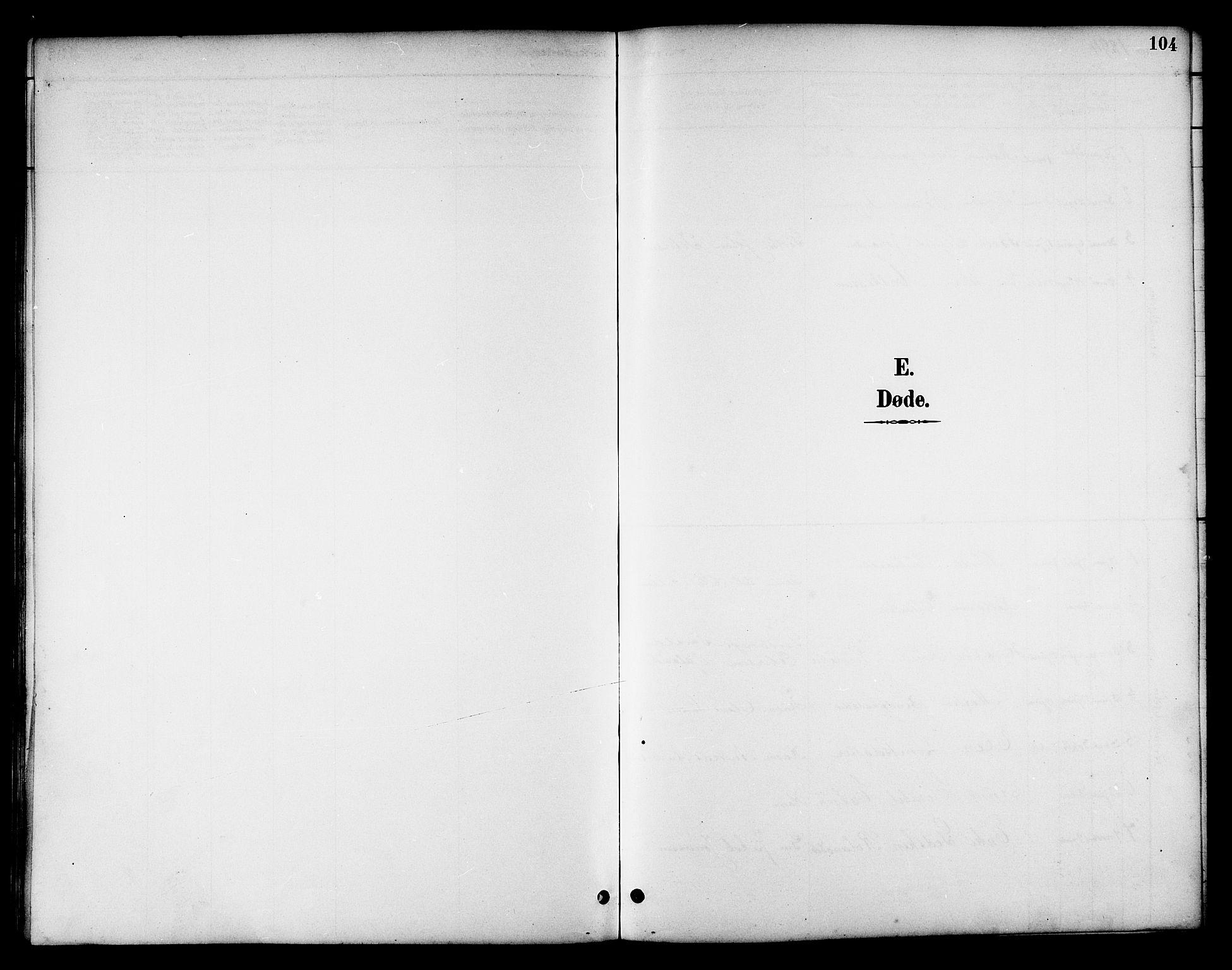 SAT, Ministerialprotokoller, klokkerbøker og fødselsregistre - Nord-Trøndelag, 783/L0662: Klokkerbok nr. 783C02, 1894-1919, s. 104