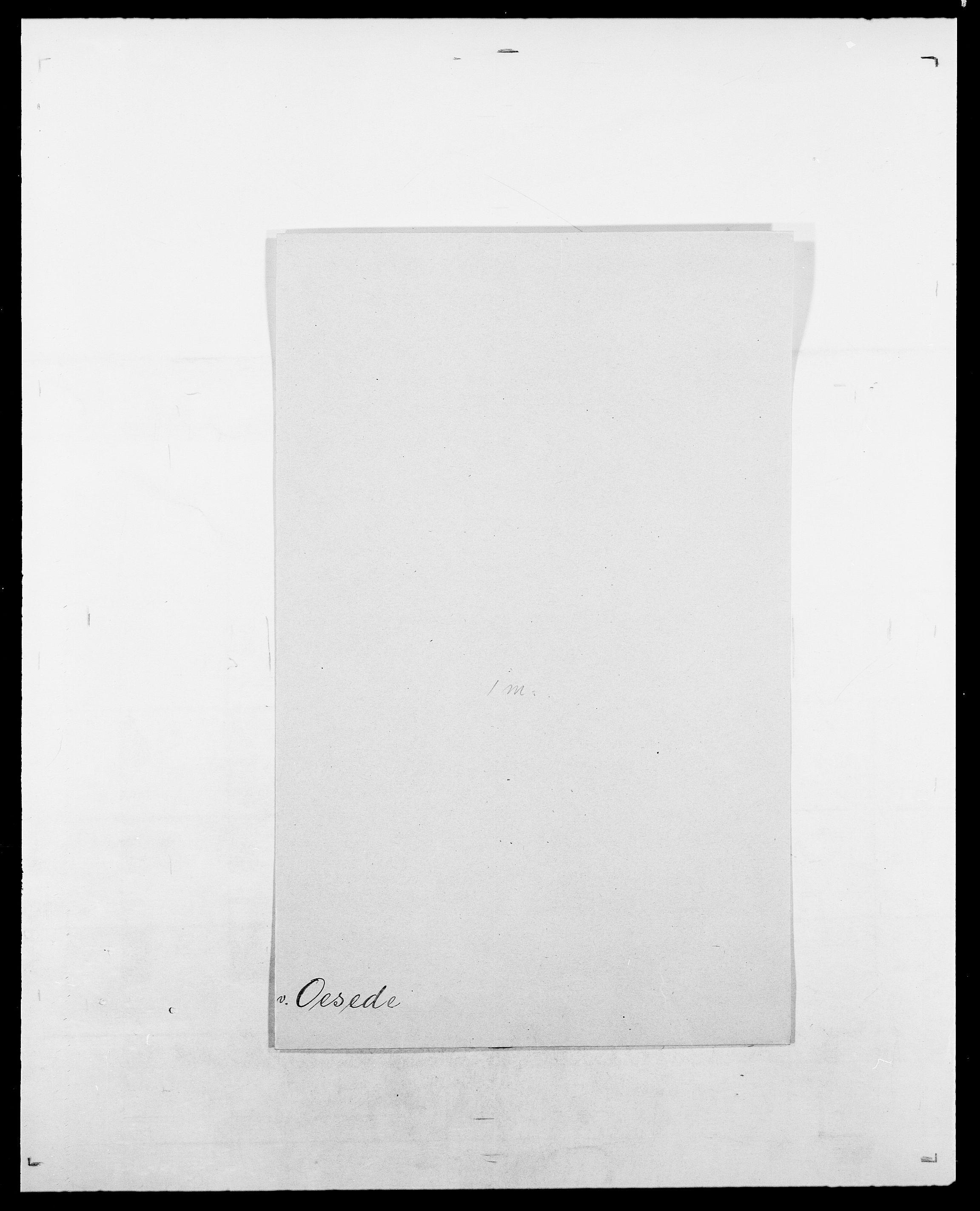 SAO, Delgobe, Charles Antoine - samling, D/Da/L0029: Obel - Oxholm, s. 38