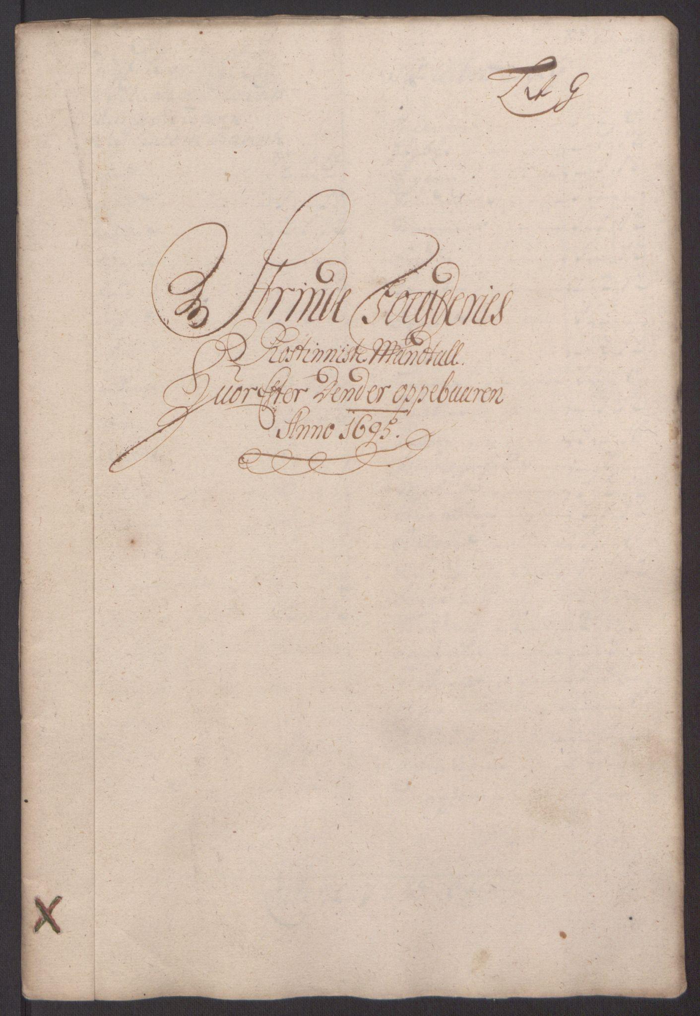 RA, Rentekammeret inntil 1814, Reviderte regnskaper, Fogderegnskap, R61/L4105: Fogderegnskap Strinda og Selbu, 1695, s. 60