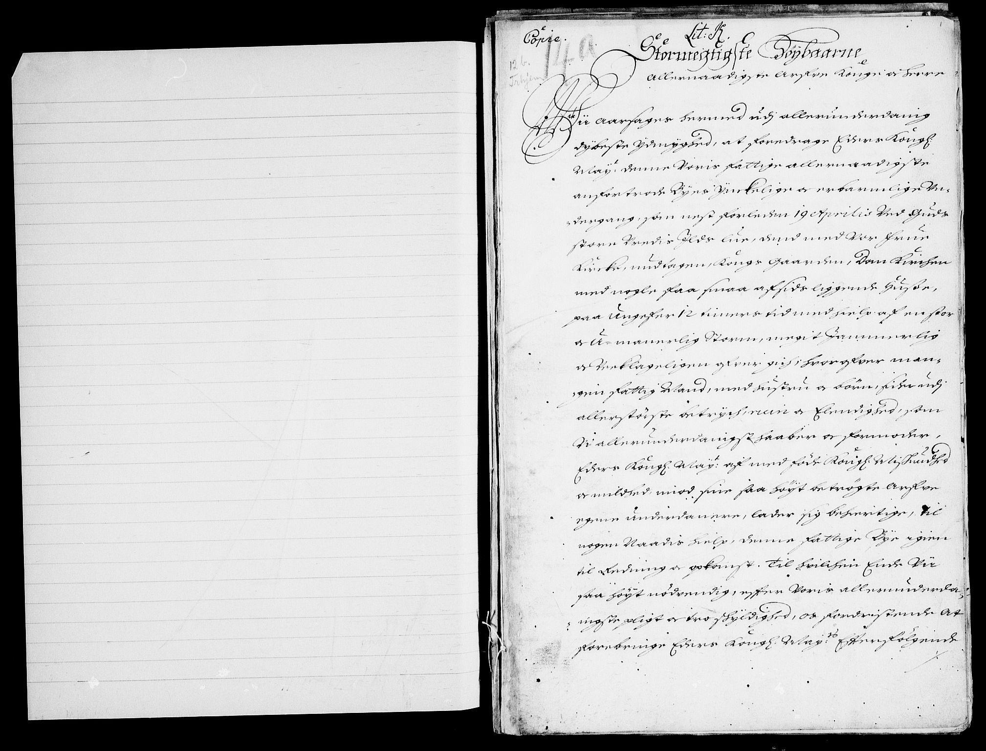 RA, Danske Kanselli, Skapsaker, F/L0074: Skap 15, pakke 79, 1611-1701, s. 101