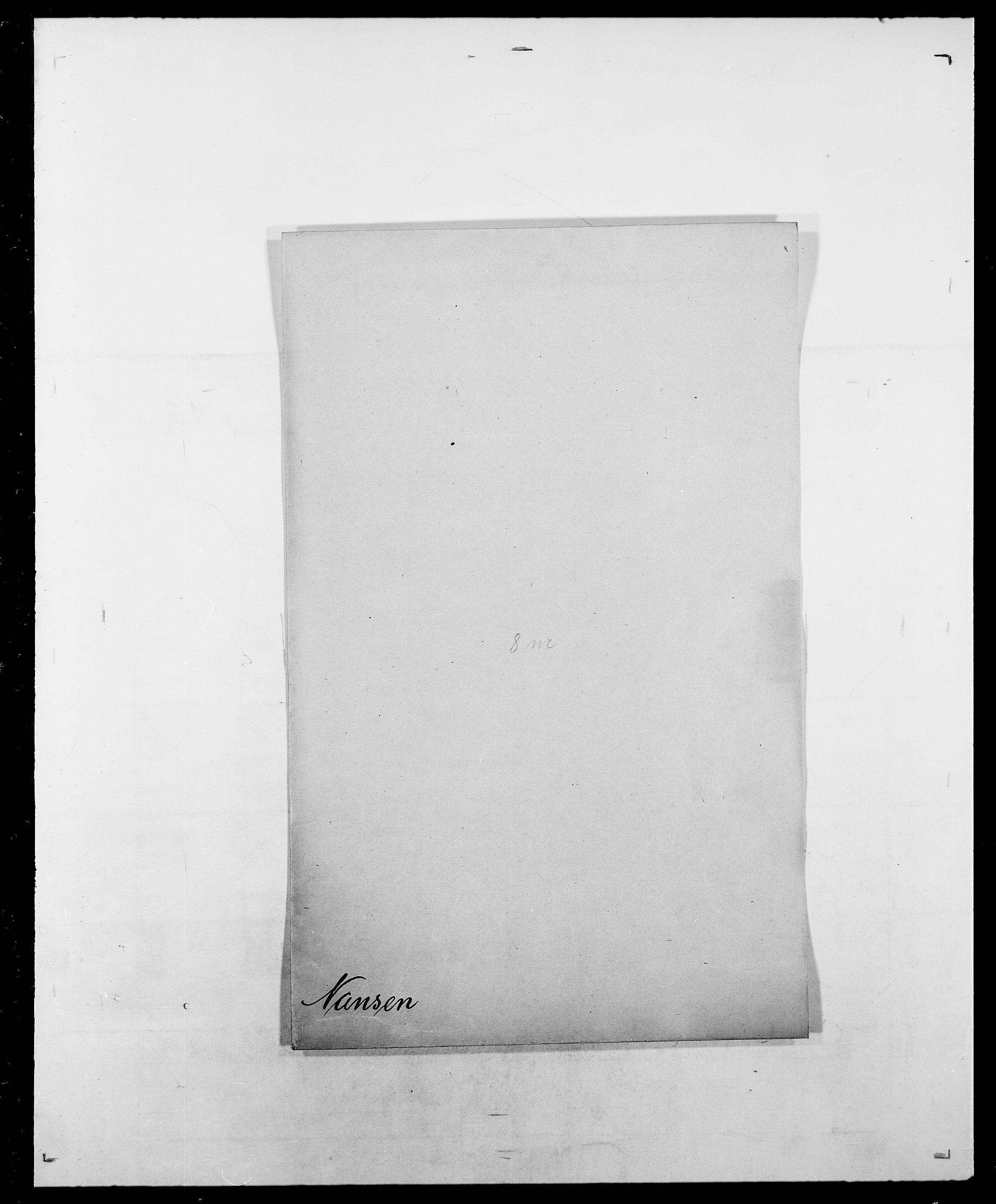 SAO, Delgobe, Charles Antoine - samling, D/Da/L0028: Naaden - Nøvik, s. 49