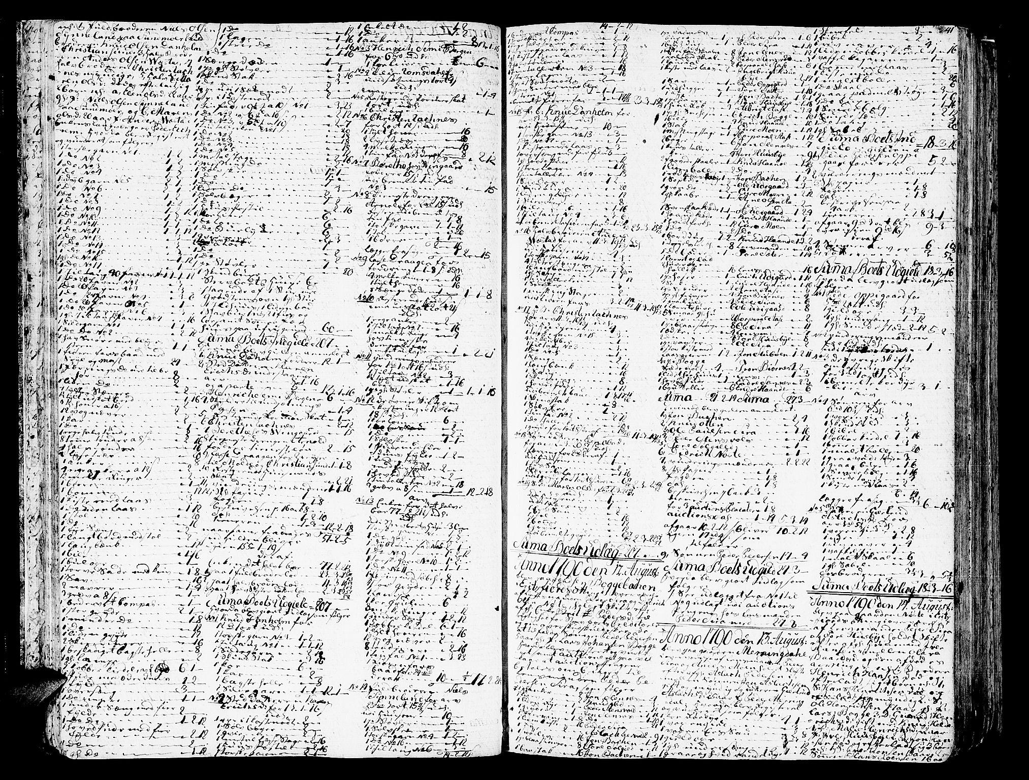 SAT, Romsdal sorenskriveri, 3/3A/L0012: Skifteprotokoll, 1789-1802, s. 40b-41a
