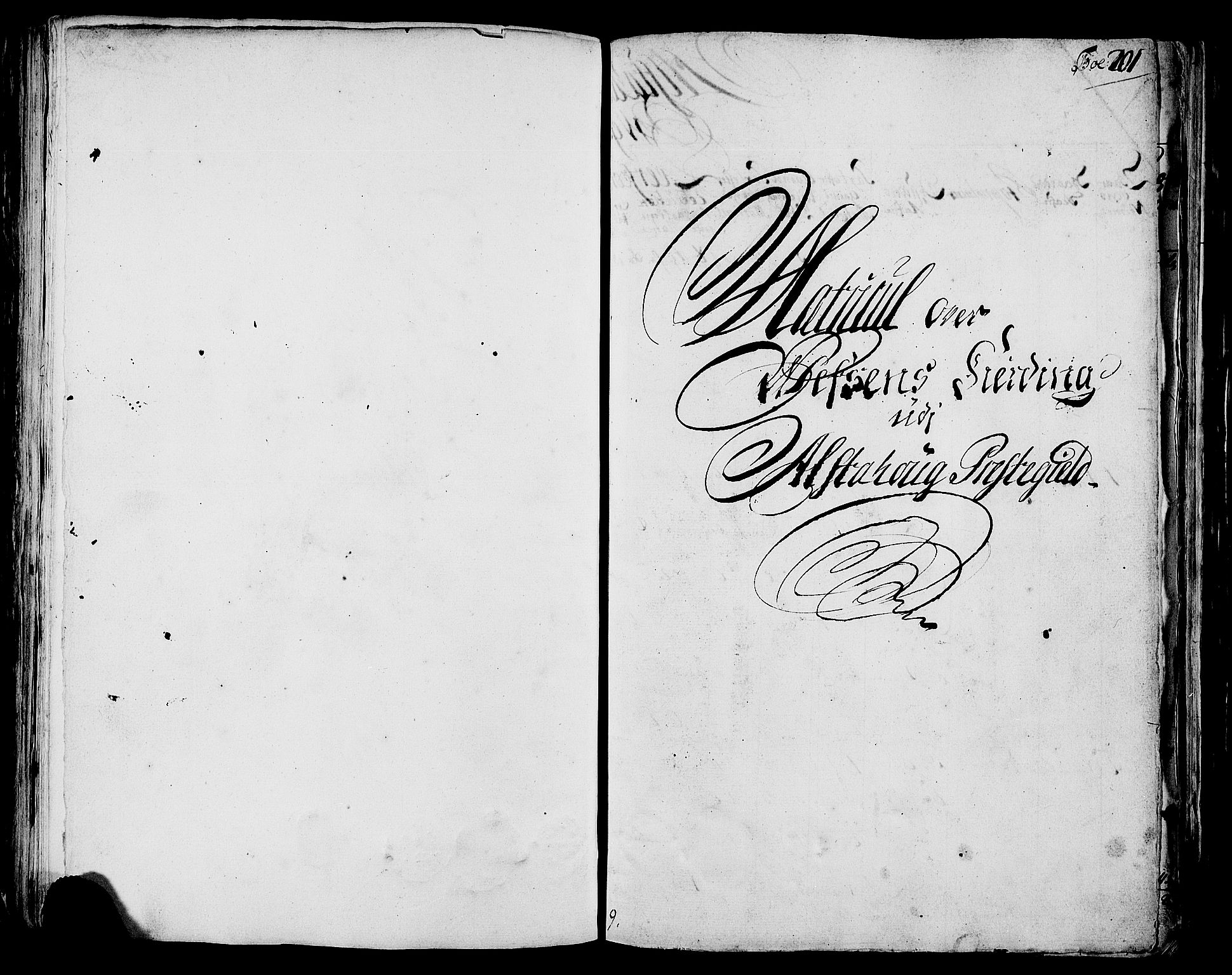 RA, Rentekammeret inntil 1814, Realistisk ordnet avdeling, N/Nb/Nbf/L0171: Helgeland matrikkelprotokoll, 1723, s. 200b-201a