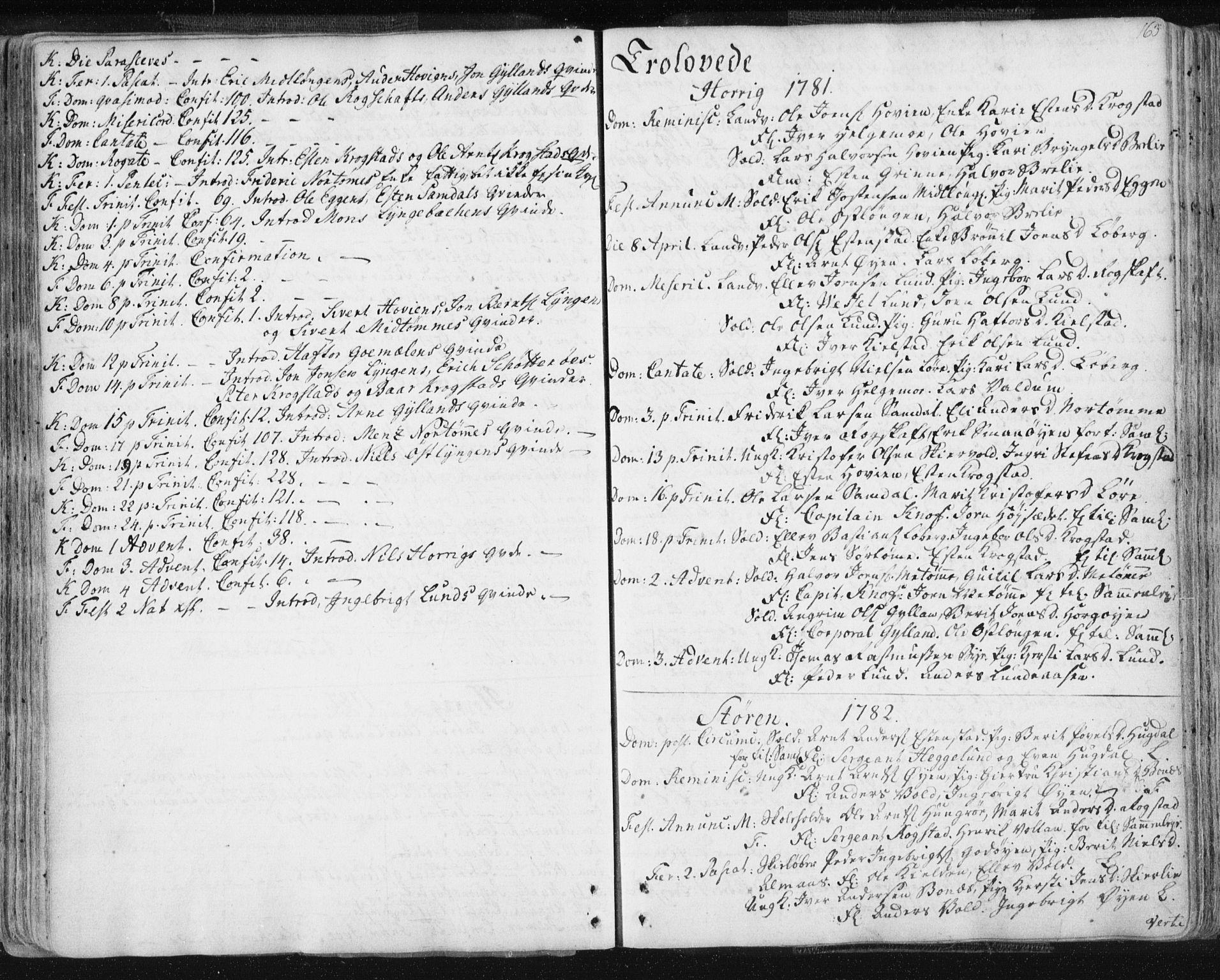 SAT, Ministerialprotokoller, klokkerbøker og fødselsregistre - Sør-Trøndelag, 687/L0991: Ministerialbok nr. 687A02, 1747-1790, s. 163