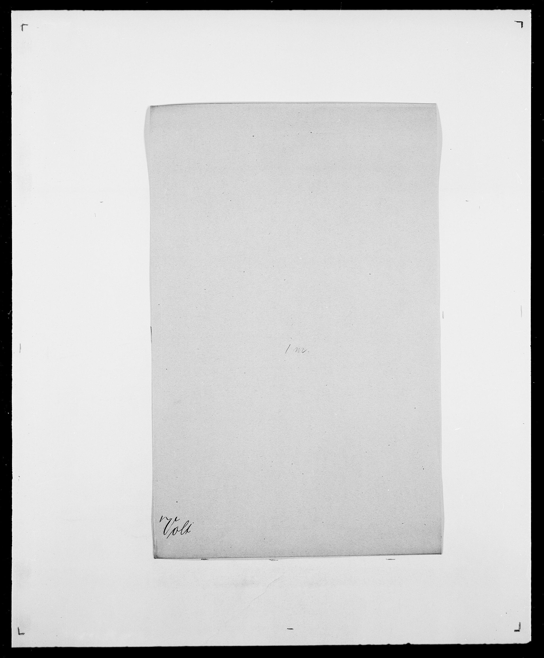 SAO, Delgobe, Charles Antoine - samling, D/Da/L0042: Vilain - Wulf, Wulff, se også Wolf, s. 663