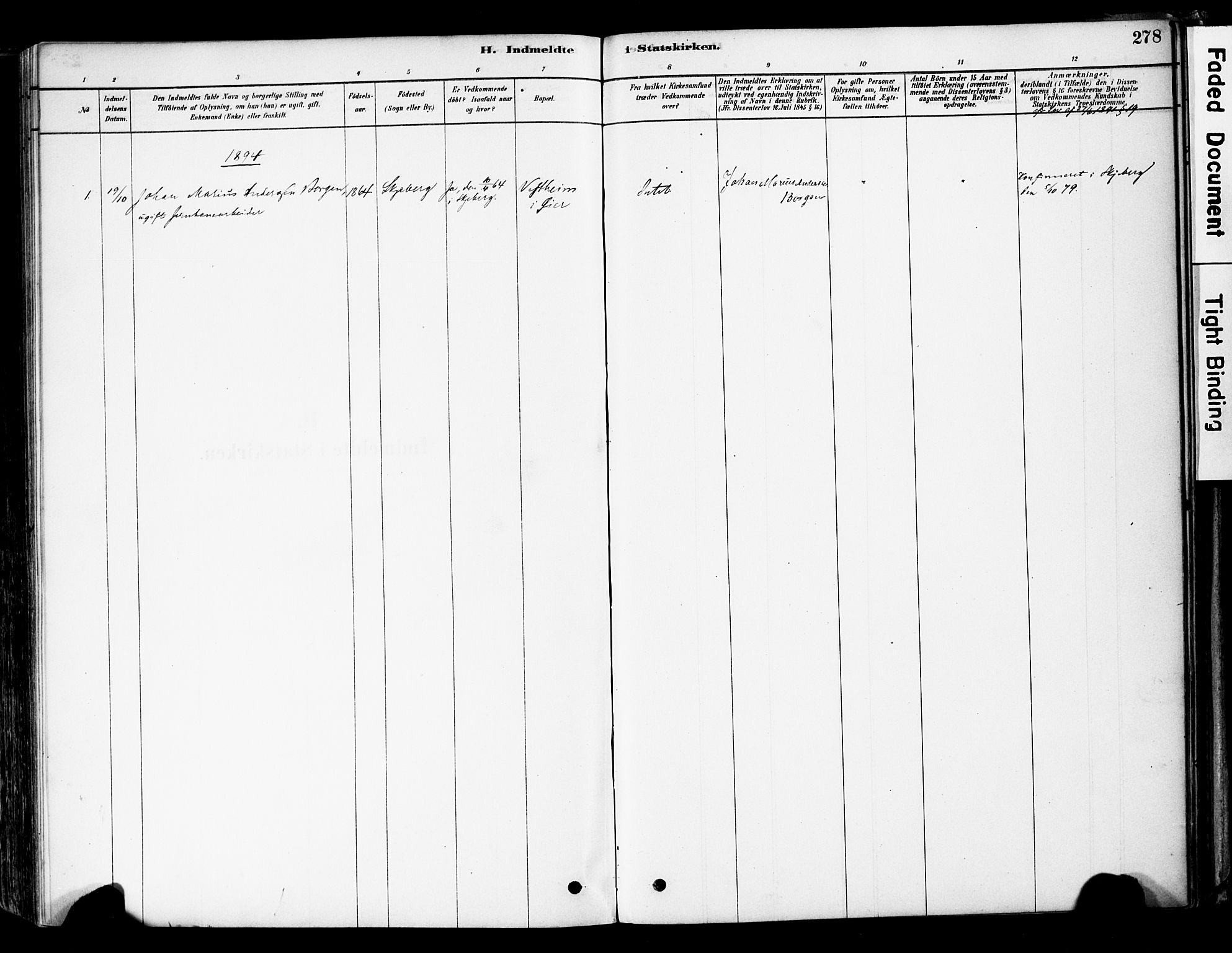 SAH, Øyer prestekontor, Ministerialbok nr. 8, 1878-1897, s. 278