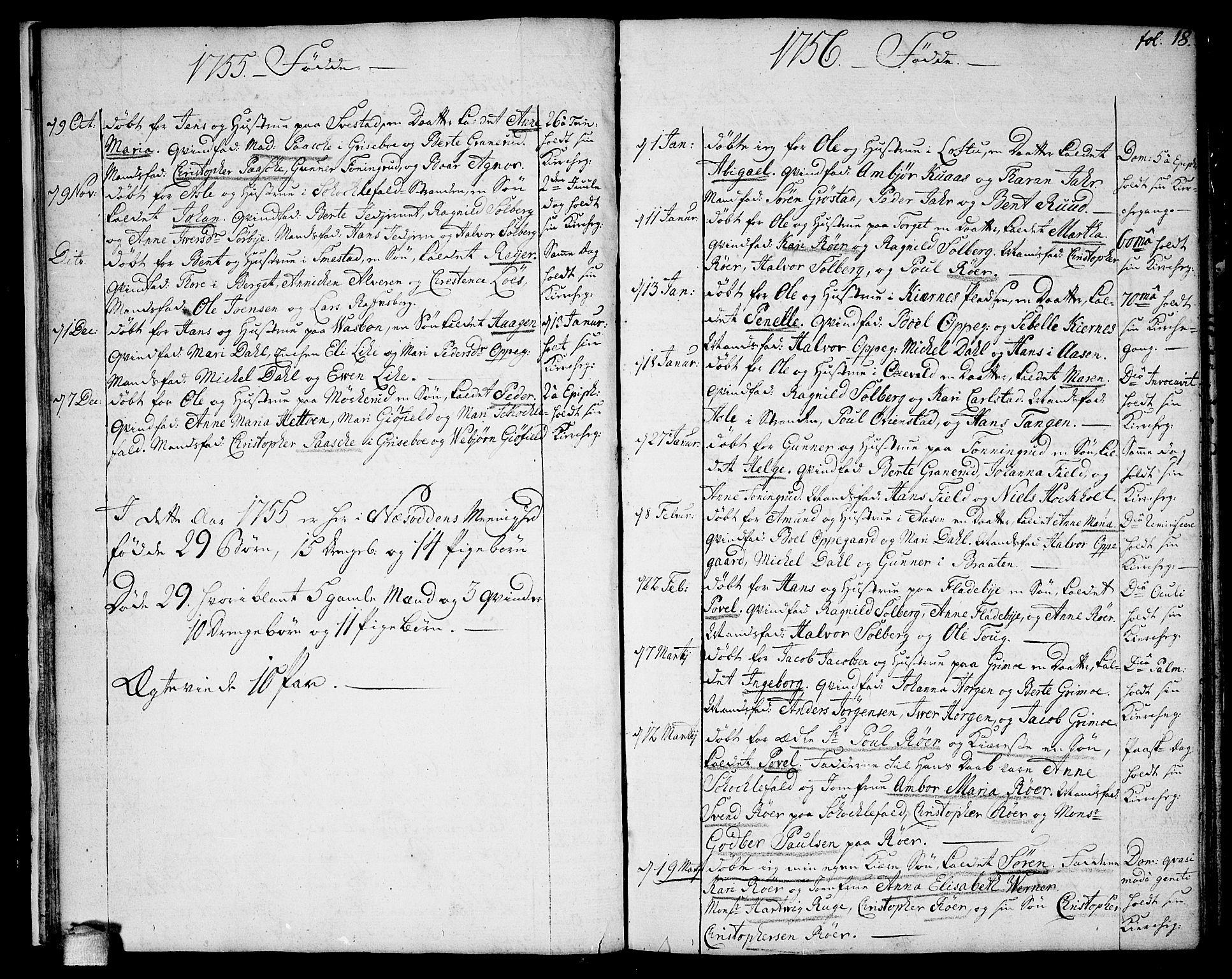 SAO, Nesodden prestekontor Kirkebøker, F/Fa/L0002: Ministerialbok nr. I 2, 1750-1768, s. 17