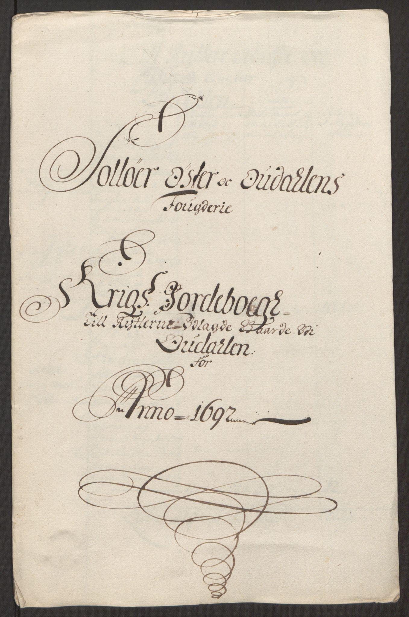 RA, Rentekammeret inntil 1814, Reviderte regnskaper, Fogderegnskap, R13/L0830: Fogderegnskap Solør, Odal og Østerdal, 1692, s. 430