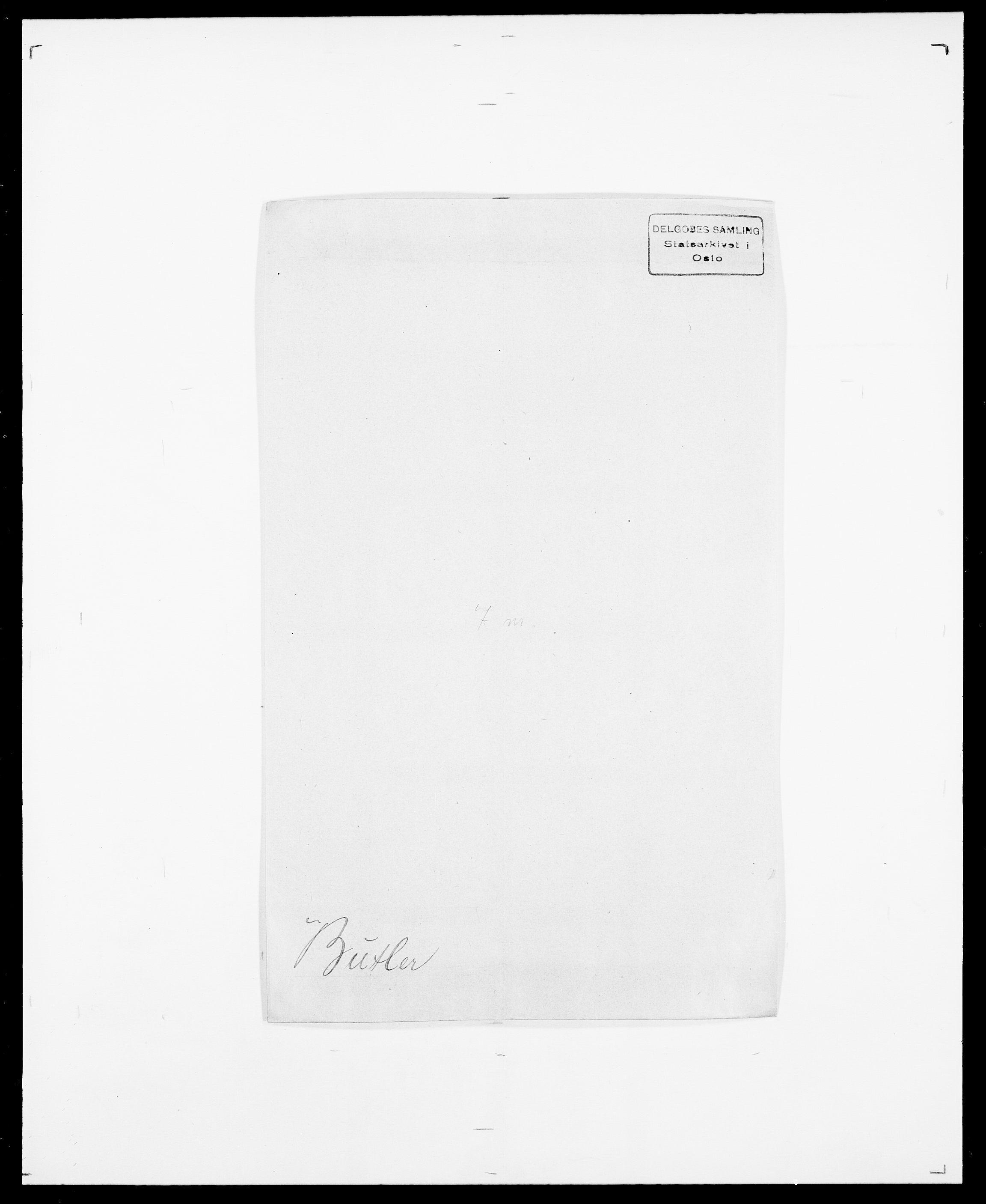 SAO, Delgobe, Charles Antoine - samling, D/Da/L0007: Buaas - Caphengst, s. 487