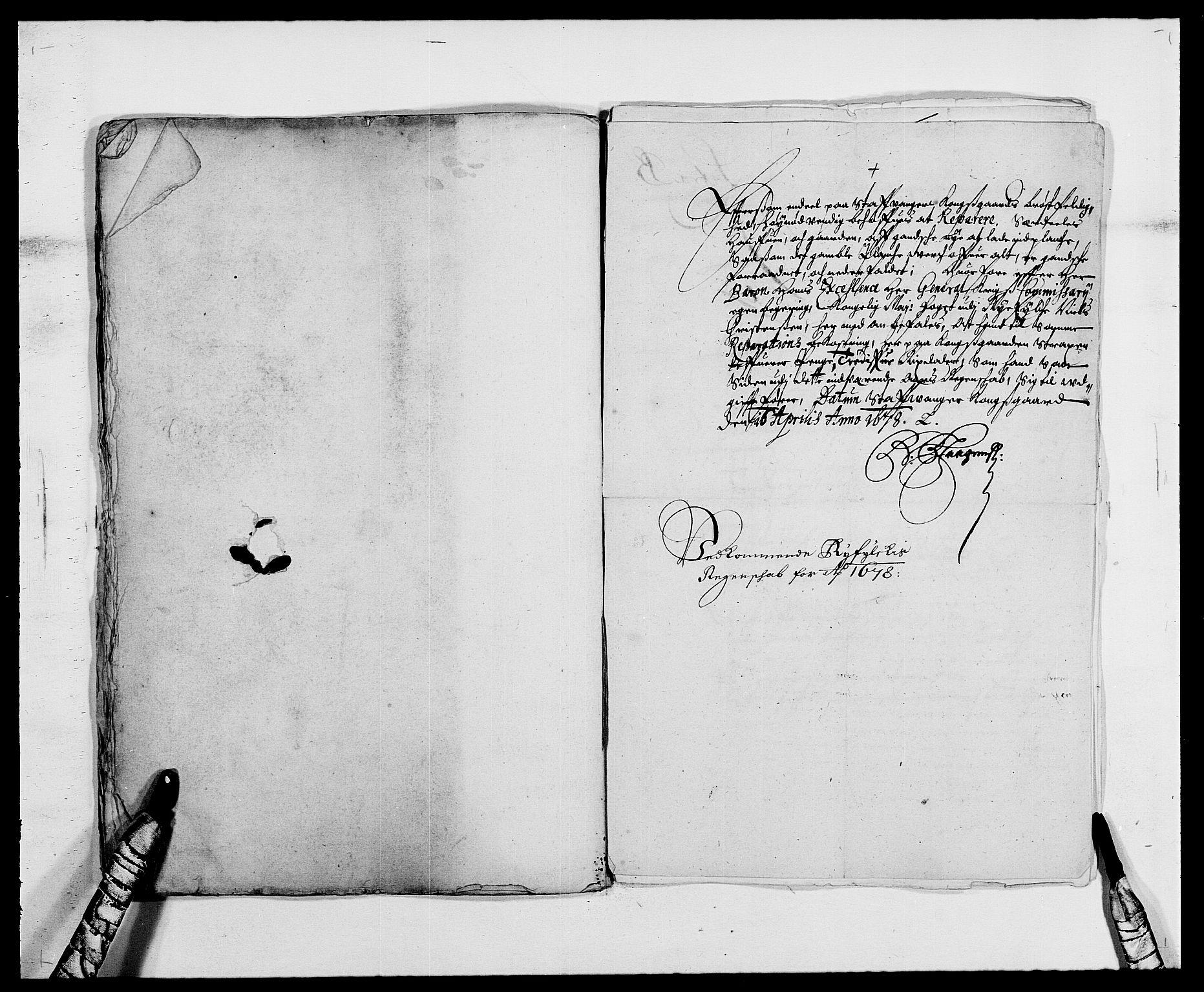 RA, Rentekammeret inntil 1814, Reviderte regnskaper, Fogderegnskap, R47/L2848: Fogderegnskap Ryfylke, 1678, s. 301