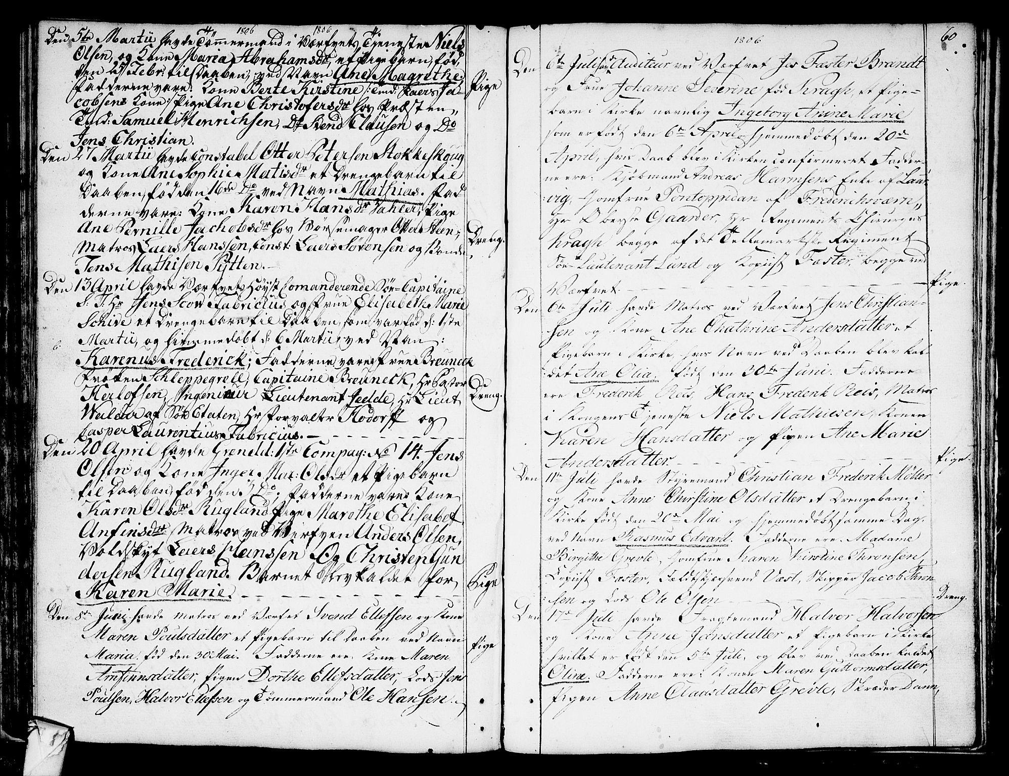 SAKO, Stavern kirkebøker, F/Fa/L0002: Ministerialbok nr. 2, 1783-1809, s. 60