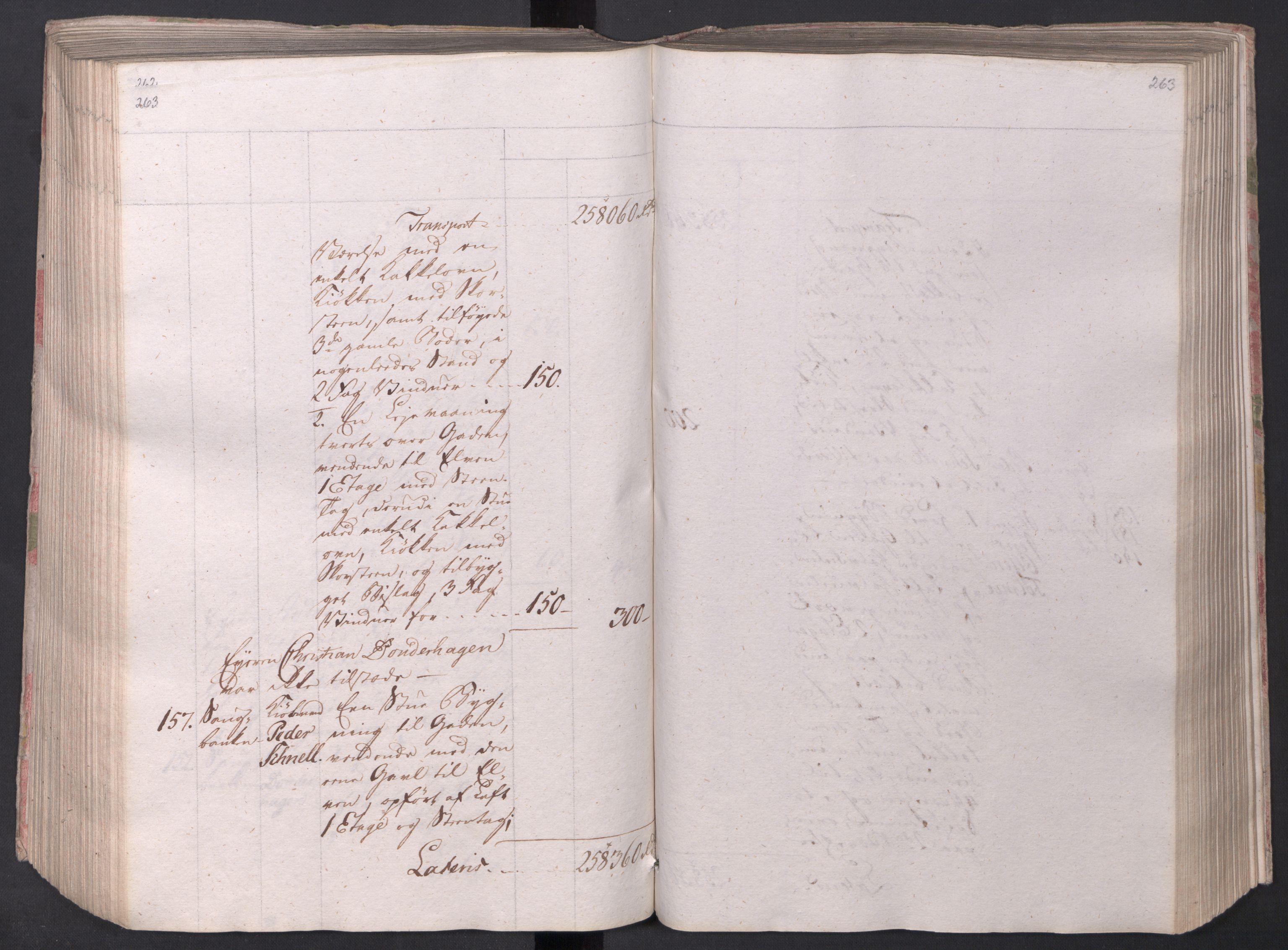 SAO, Kristiania stiftamt, I/Ia/L0015: Branntakster, 1797, s. 263