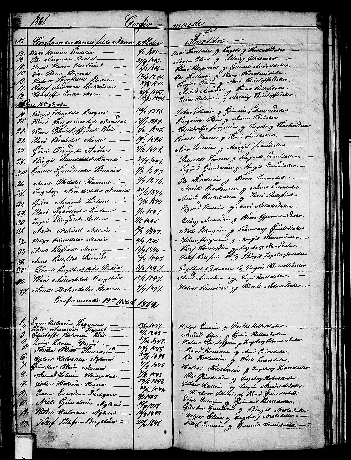 SAKO, Sauherad kirkebøker, G/Gb/L0001: Klokkerbok nr. II 1, 1845-1865, s. 69