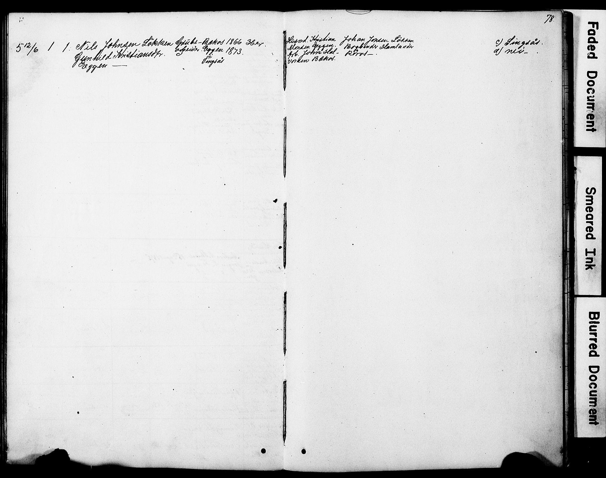 SAT, Ministerialprotokoller, klokkerbøker og fødselsregistre - Sør-Trøndelag, 683/L0949: Klokkerbok nr. 683C01, 1880-1896, s. 78