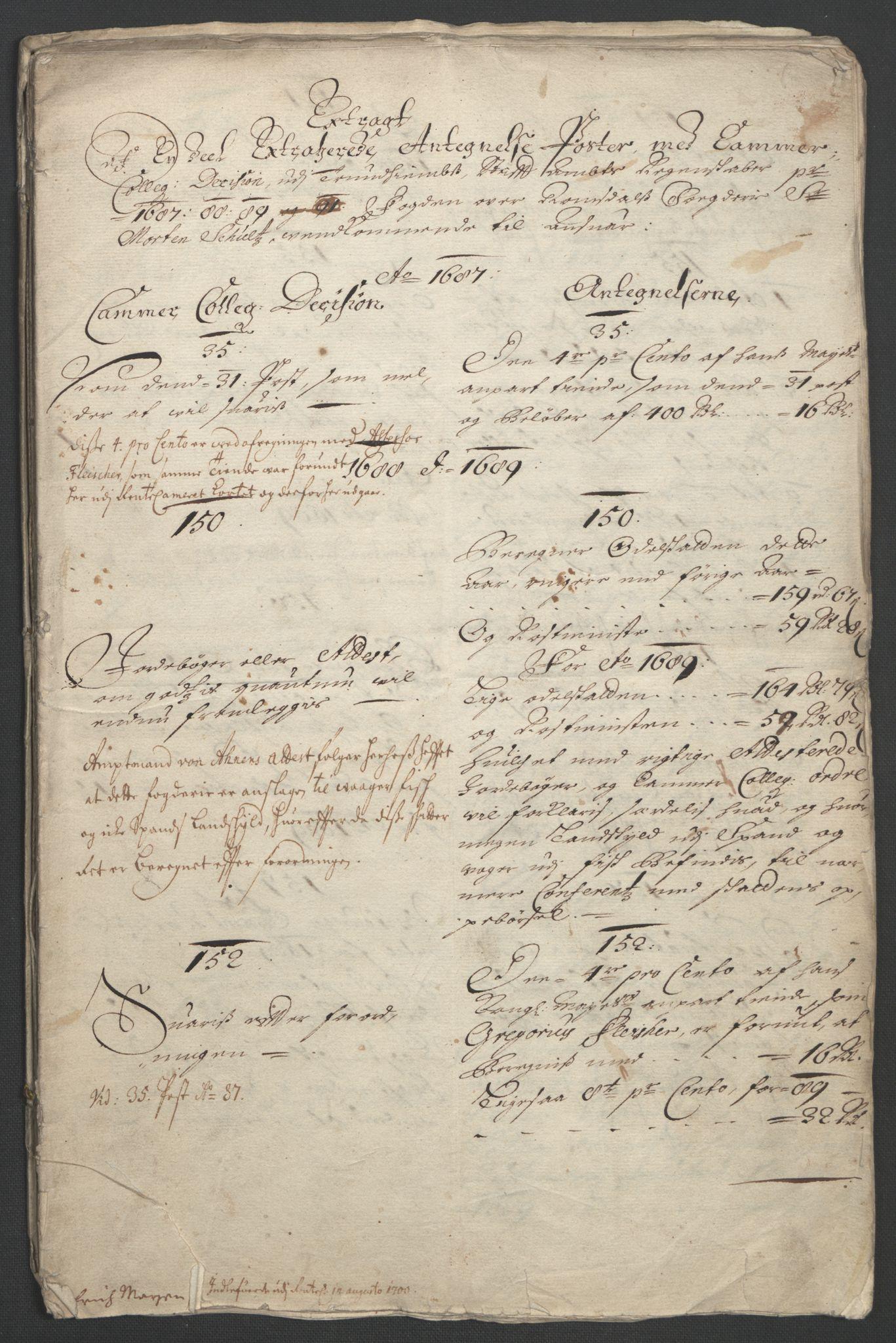RA, Rentekammeret inntil 1814, Reviderte regnskaper, Fogderegnskap, R55/L3650: Fogderegnskap Romsdal, 1692, s. 221
