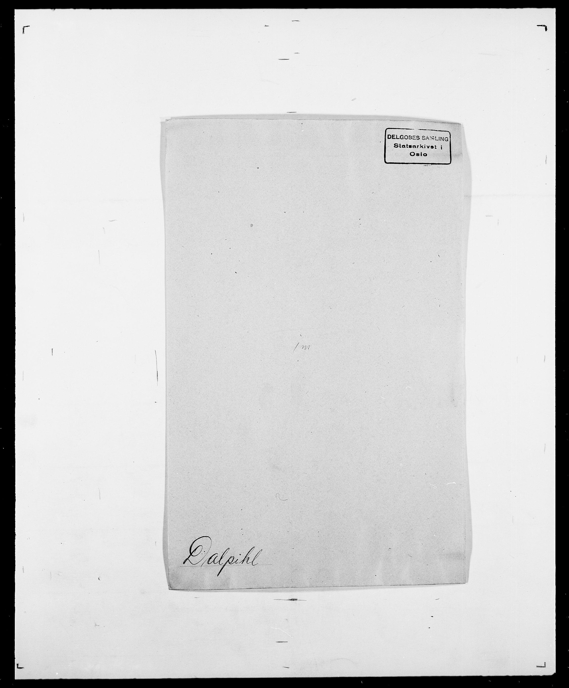 SAO, Delgobe, Charles Antoine - samling, D/Da/L0009: Dahl - v. Düren, s. 262