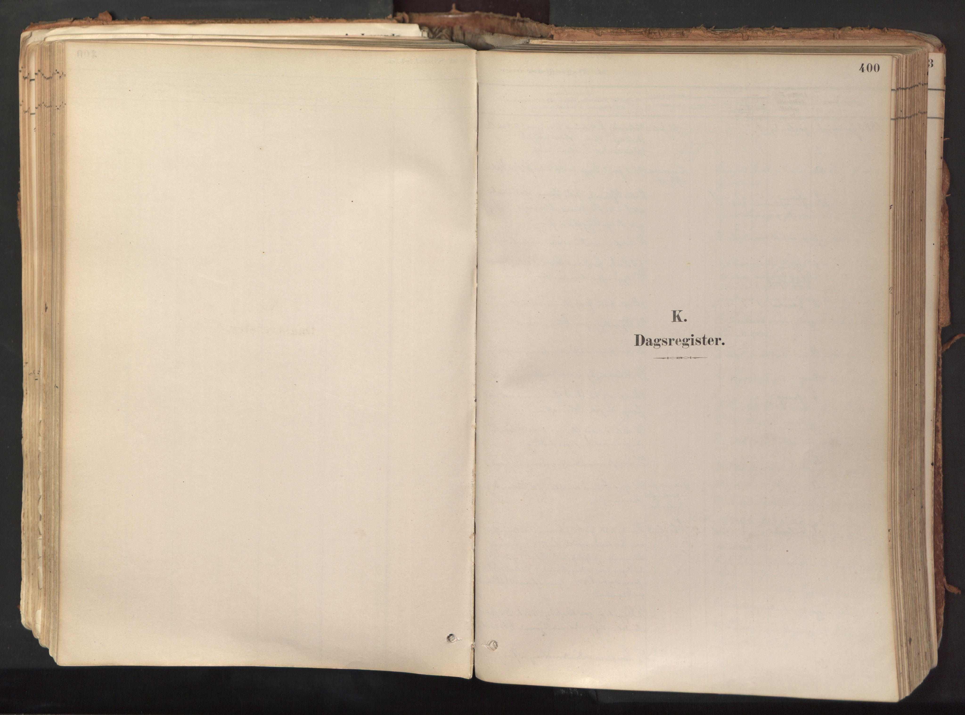 SAT, Ministerialprotokoller, klokkerbøker og fødselsregistre - Nord-Trøndelag, 758/L0519: Ministerialbok nr. 758A04, 1880-1926, s. 400