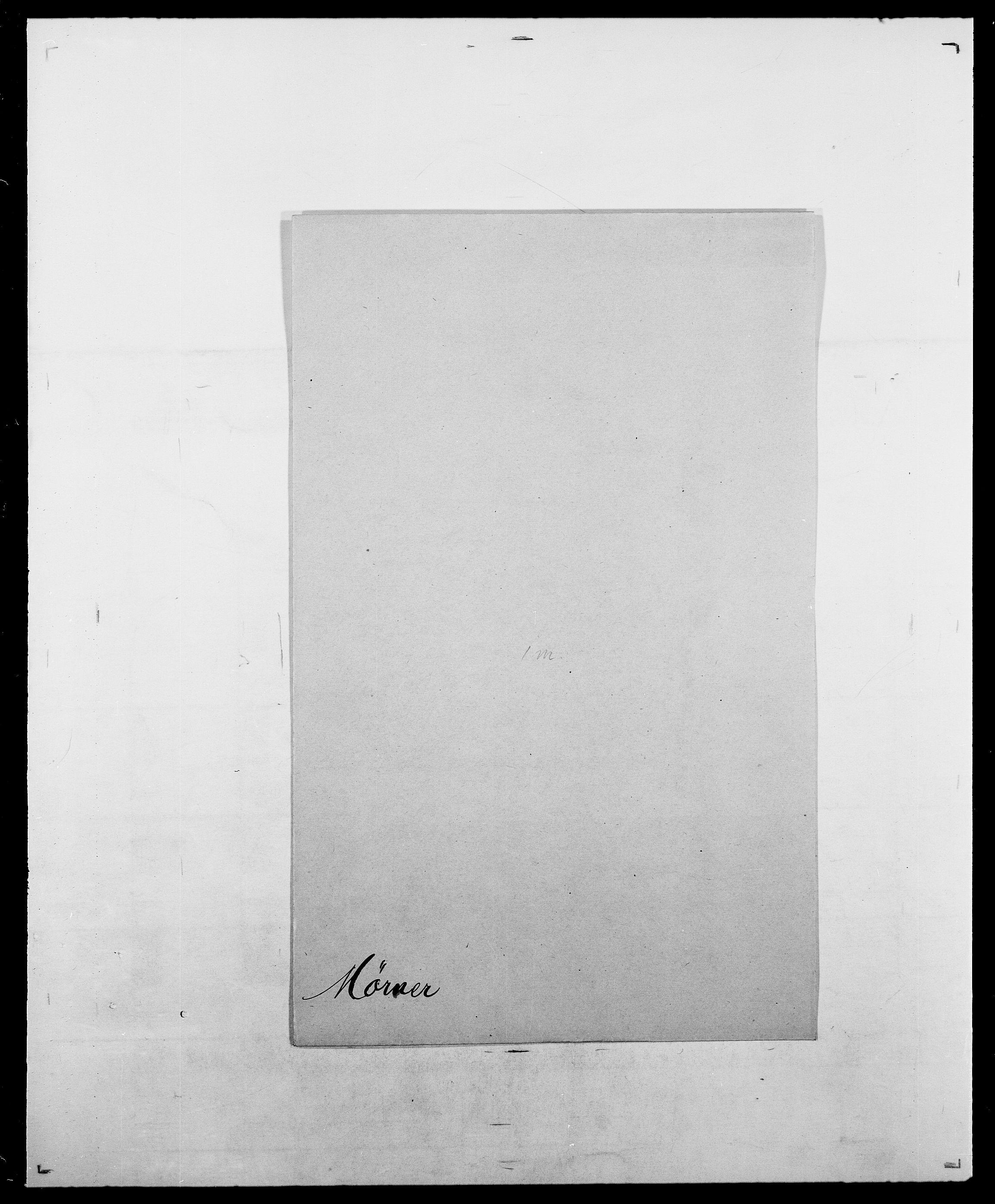 SAO, Delgobe, Charles Antoine - samling, D/Da/L0027: Morath - v. Møsting, s. 771