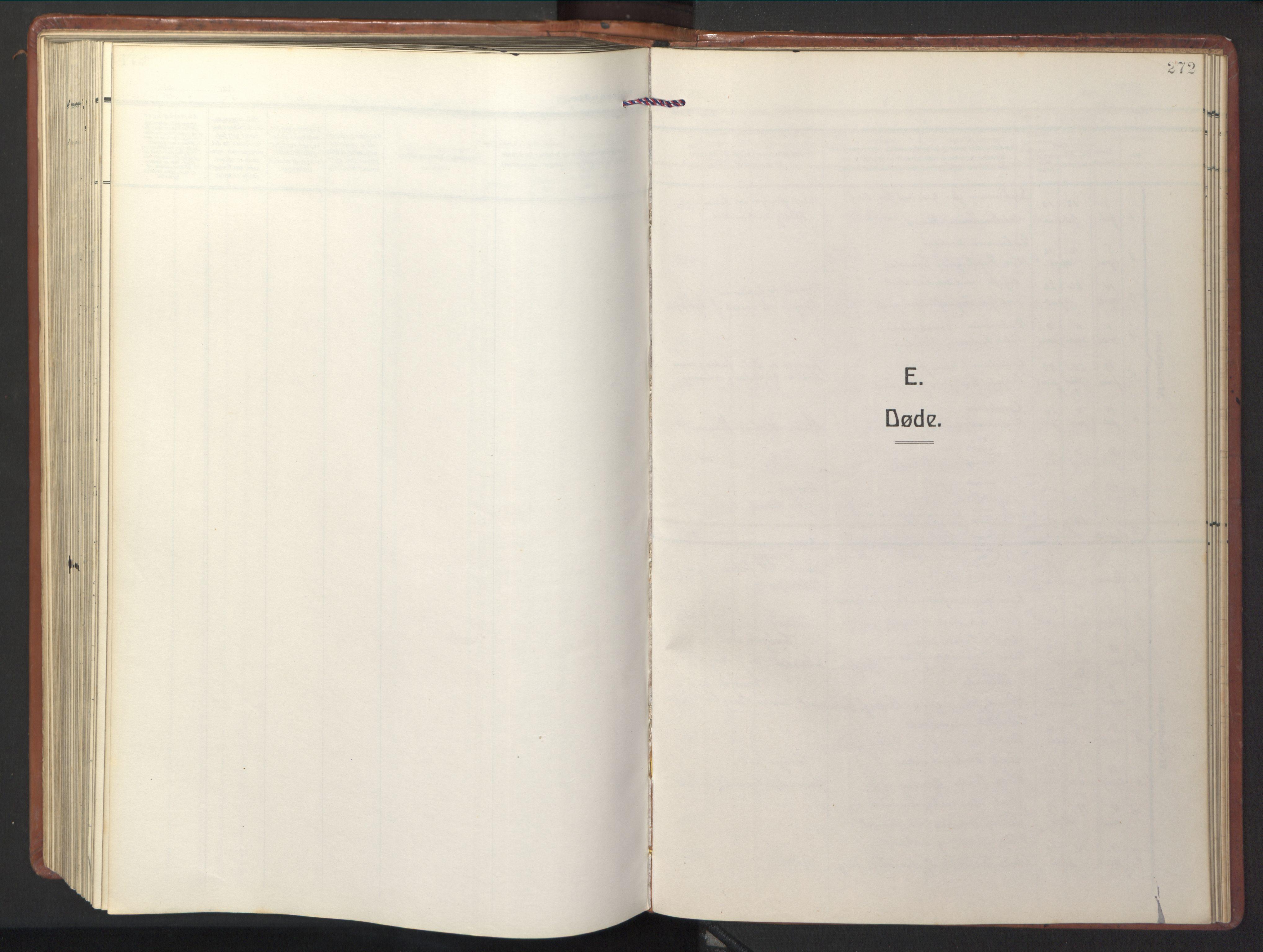 SAT, Ministerialprotokoller, klokkerbøker og fødselsregistre - Sør-Trøndelag, 681/L0943: Klokkerbok nr. 681C07, 1926-1954, s. 272