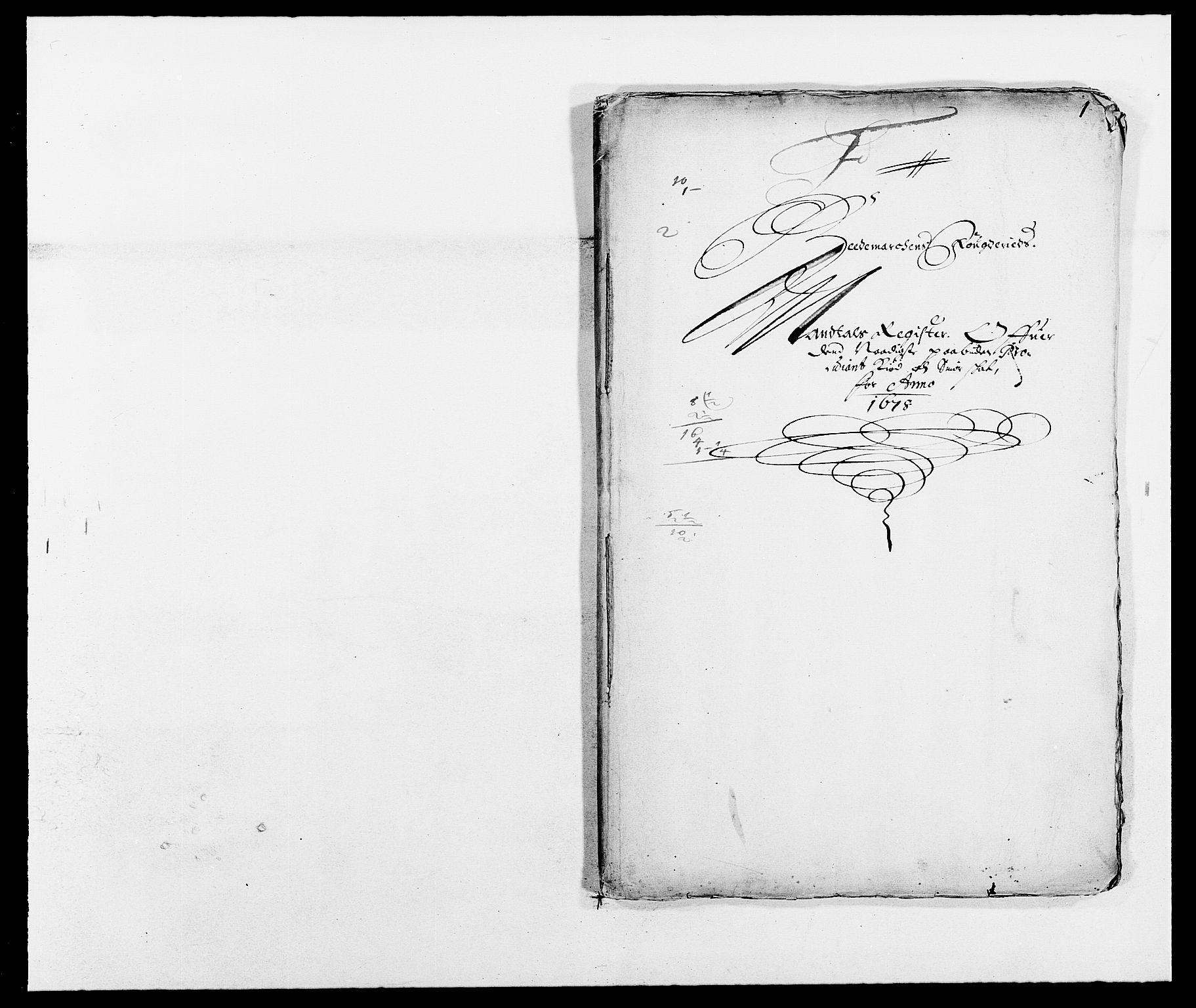 RA, Rentekammeret inntil 1814, Reviderte regnskaper, Fogderegnskap, R16/L1017: Fogderegnskap Hedmark, 1678-1679, s. 226