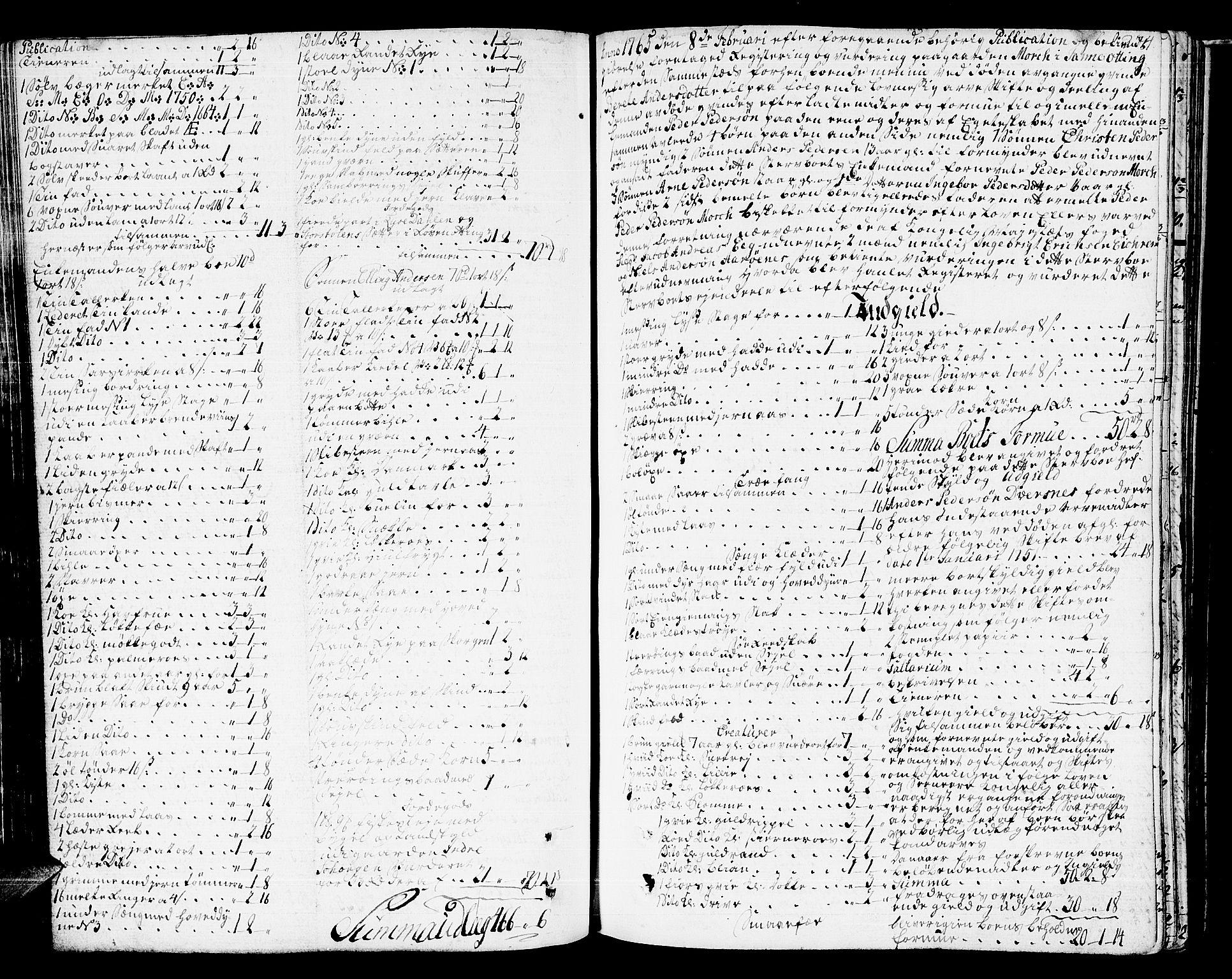 SAT, Romsdal sorenskriveri, 3/3A/L0009: Skifteprotokoll, 1761-1773, s. 273b-274a